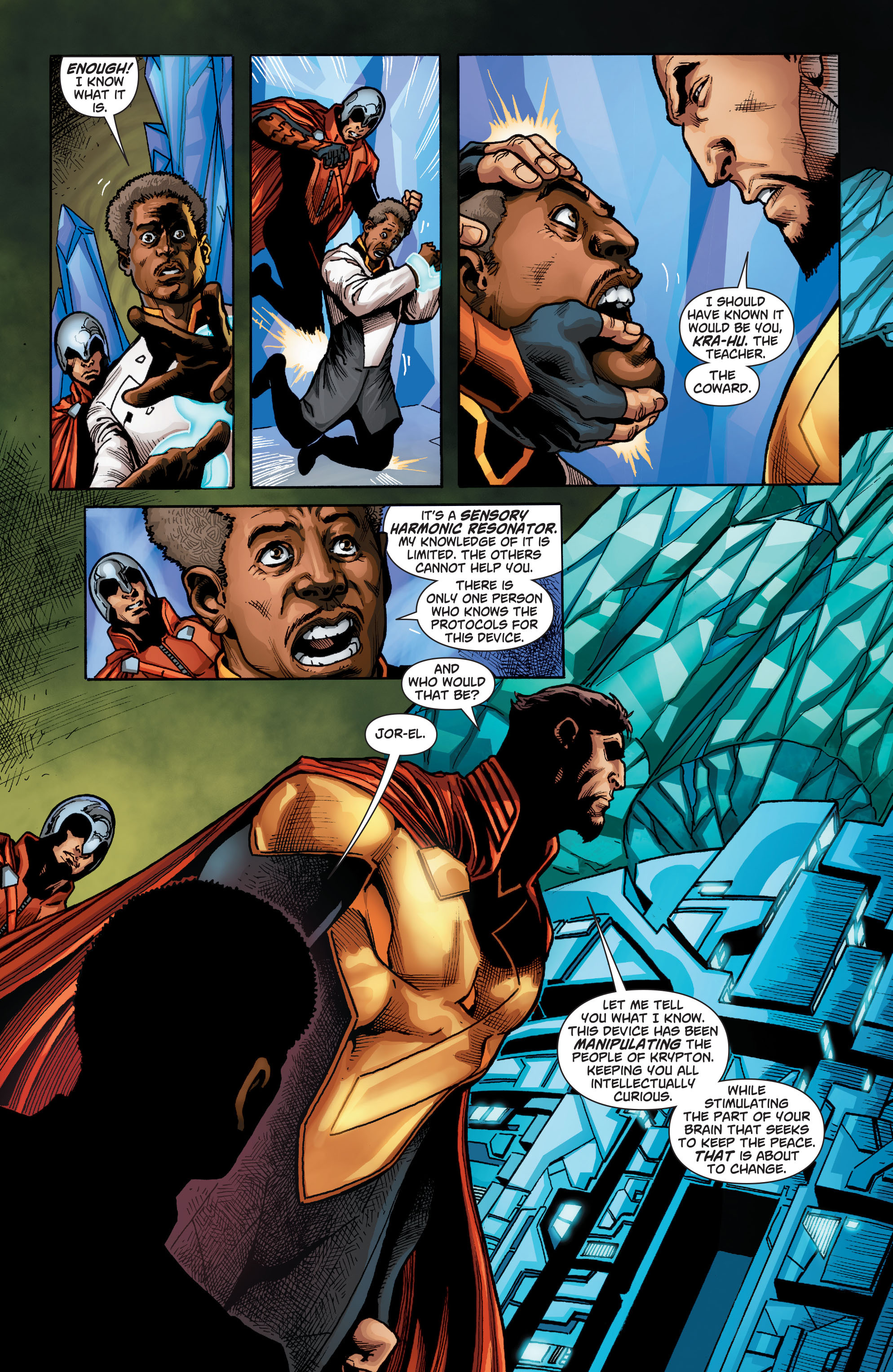 Read online Action Comics (2011) comic -  Issue #22 - 22