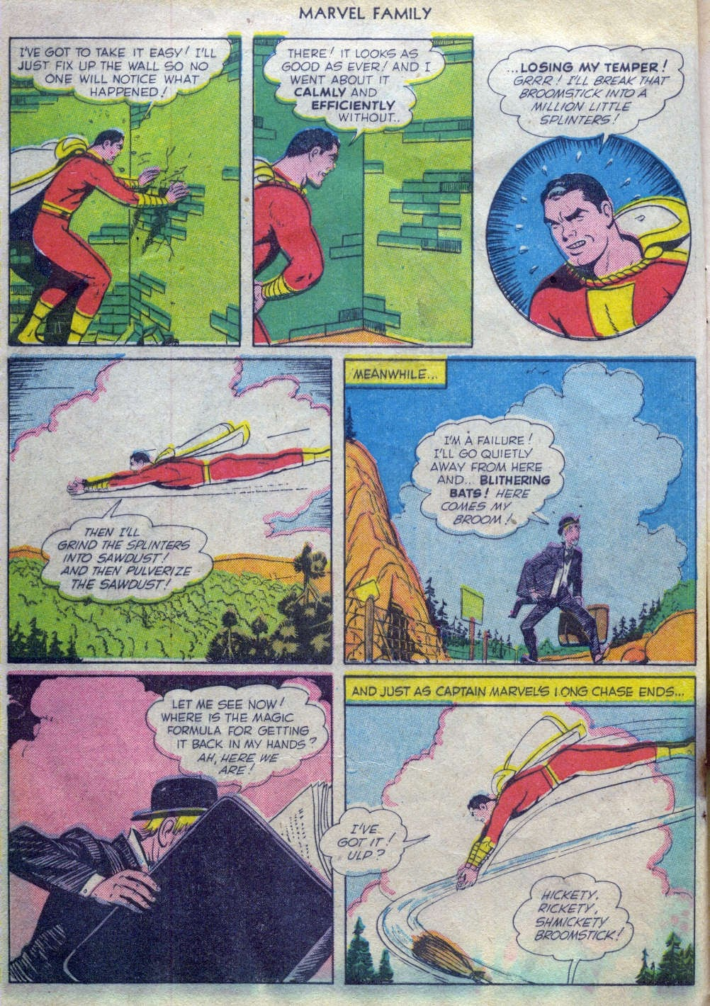 The Marvel Family issue 52 - Page 7