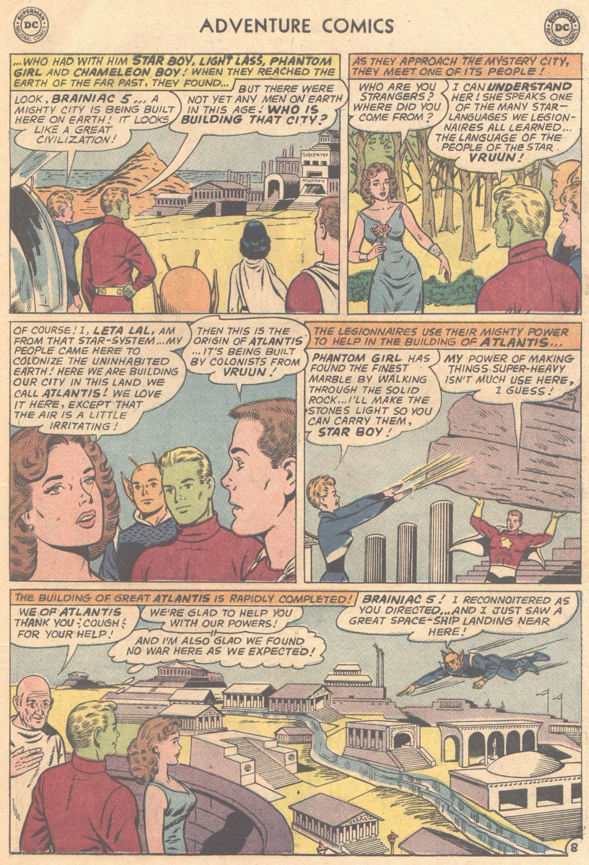 Read online Adventure Comics (1938) comic -  Issue #333 - 9