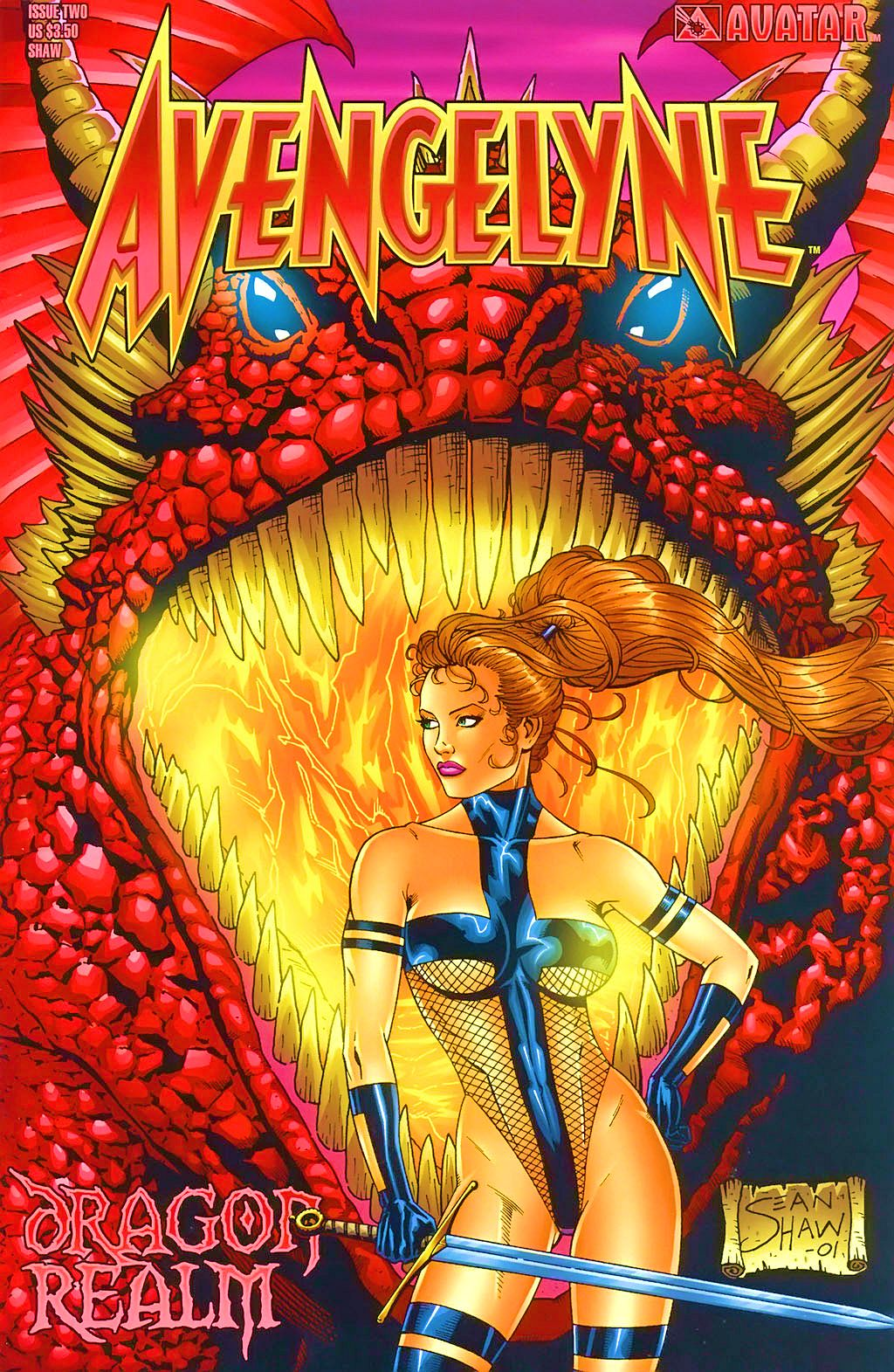 Read online Avengelyne: Dragon Realm comic -  Issue #2 - 4