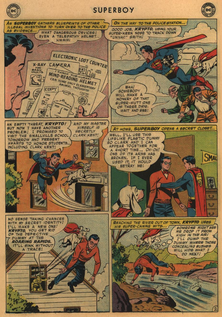 Superboy (1949) issue 67 - Page 13