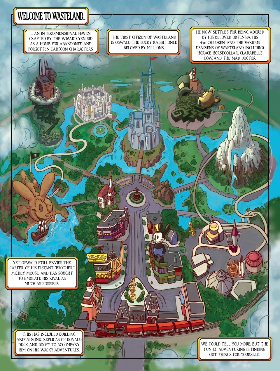 Epic Mickey: Tales of the Wasteland Oswald_the_Lucky_Duck Page 1