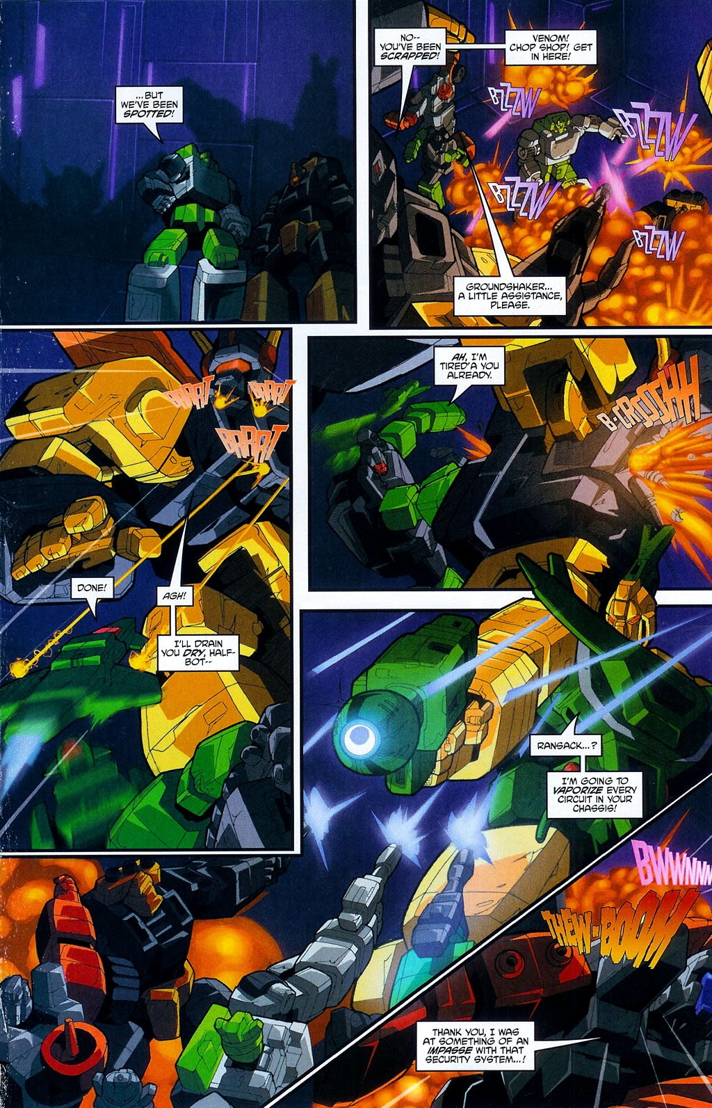 Read online Transformers: Micromasters comic -  Issue #4 - 13