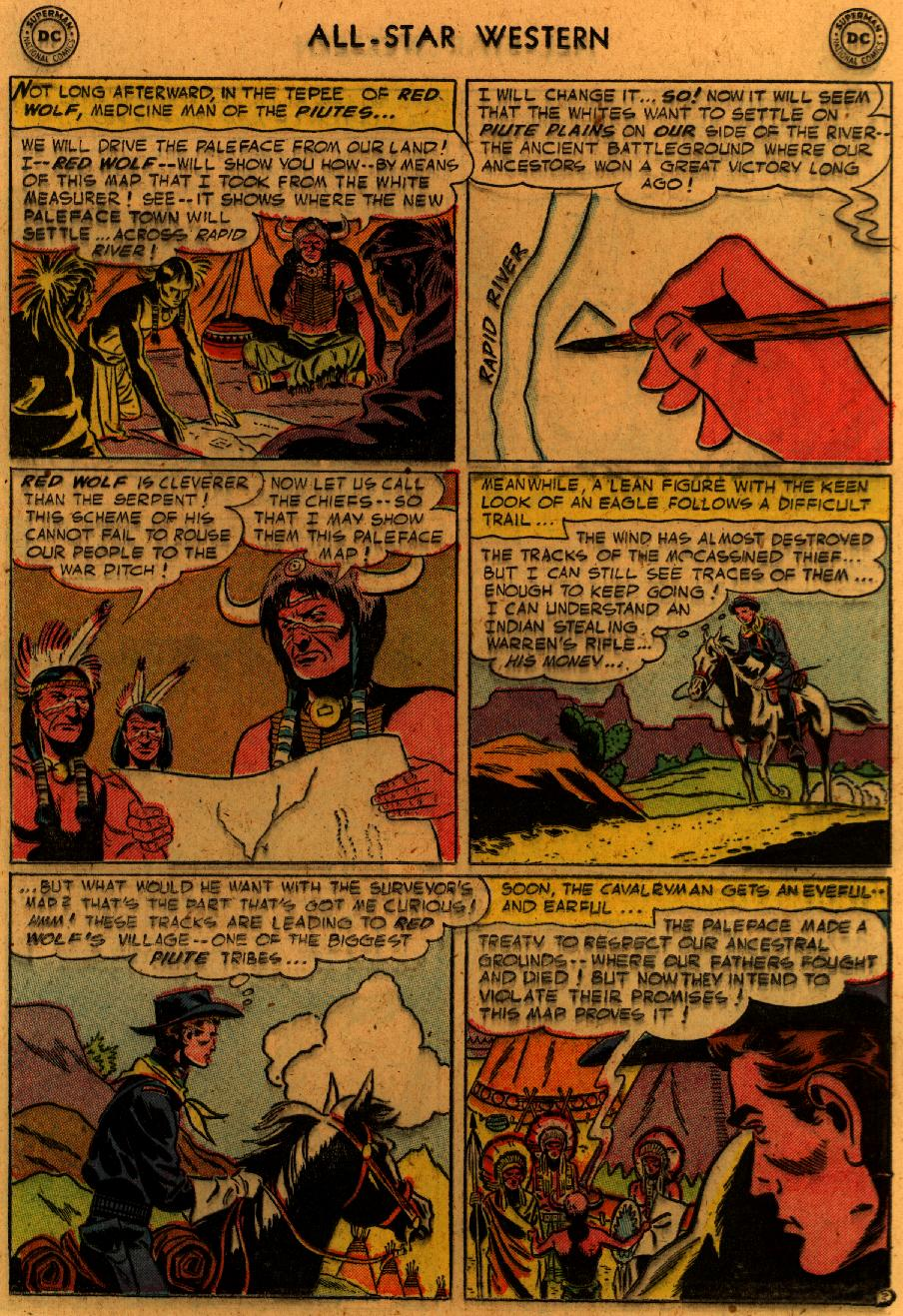 Read online All-Star Western (1951) comic -  Issue #89 - 22