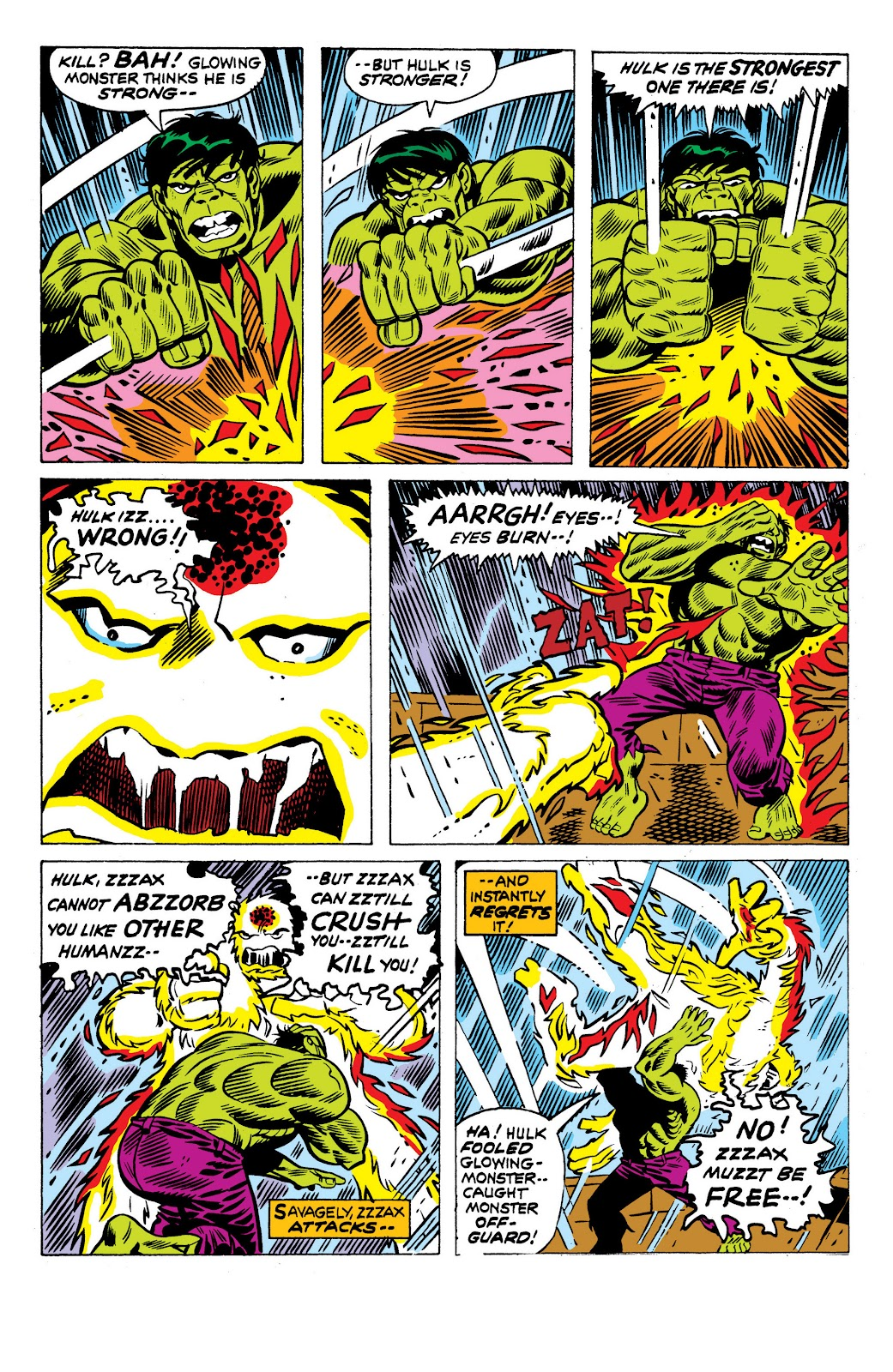 Read online Marvel Masterworks: The Incredible Hulk comic -  Issue # TPB 10 (Part 3) - 55