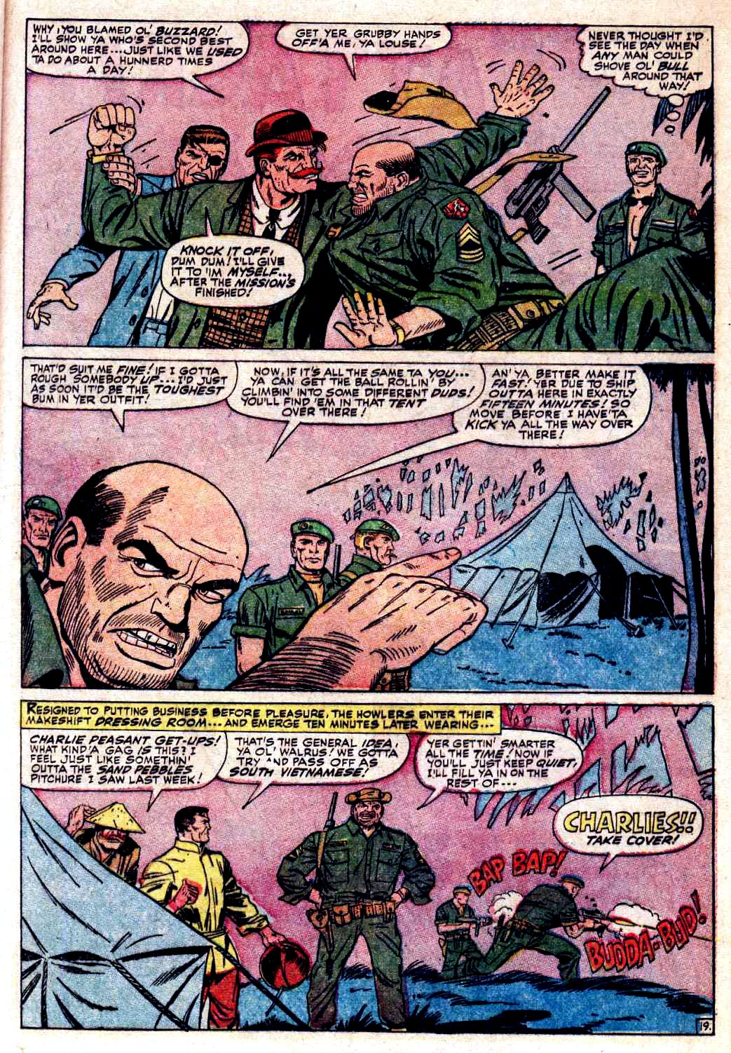 Read online Sgt. Fury comic -  Issue # _Special 3 - 21
