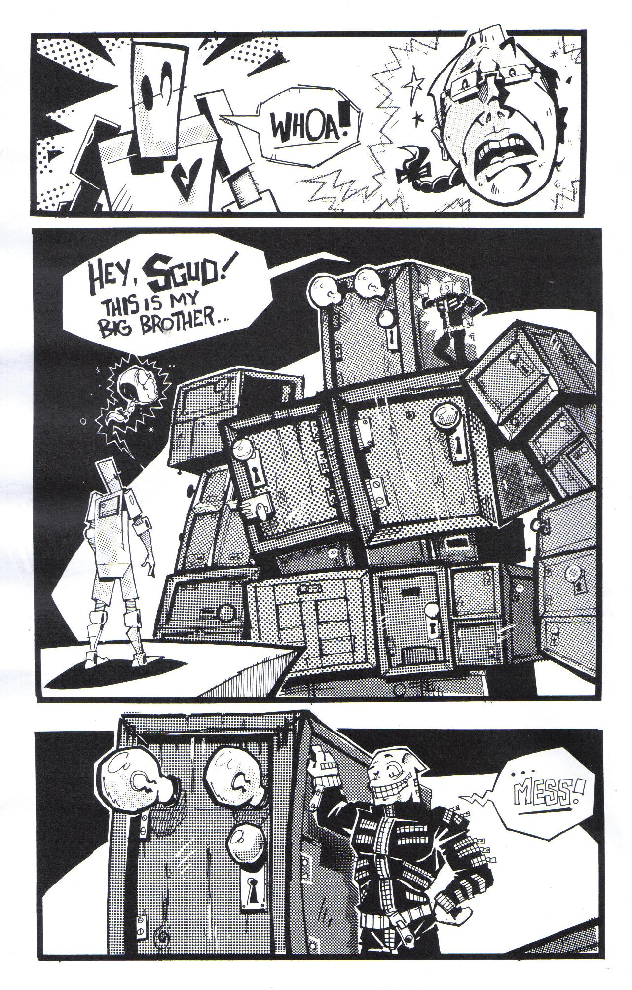 Read online Scud: The Disposable Assassin (2008) comic -  Issue #3 - 20