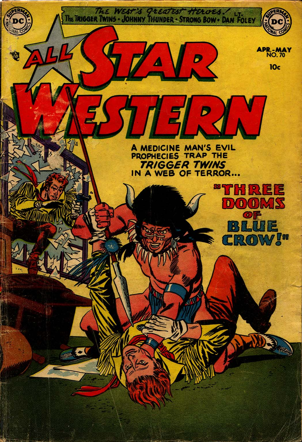 Read online All-Star Western (1951) comic -  Issue #70 - 1