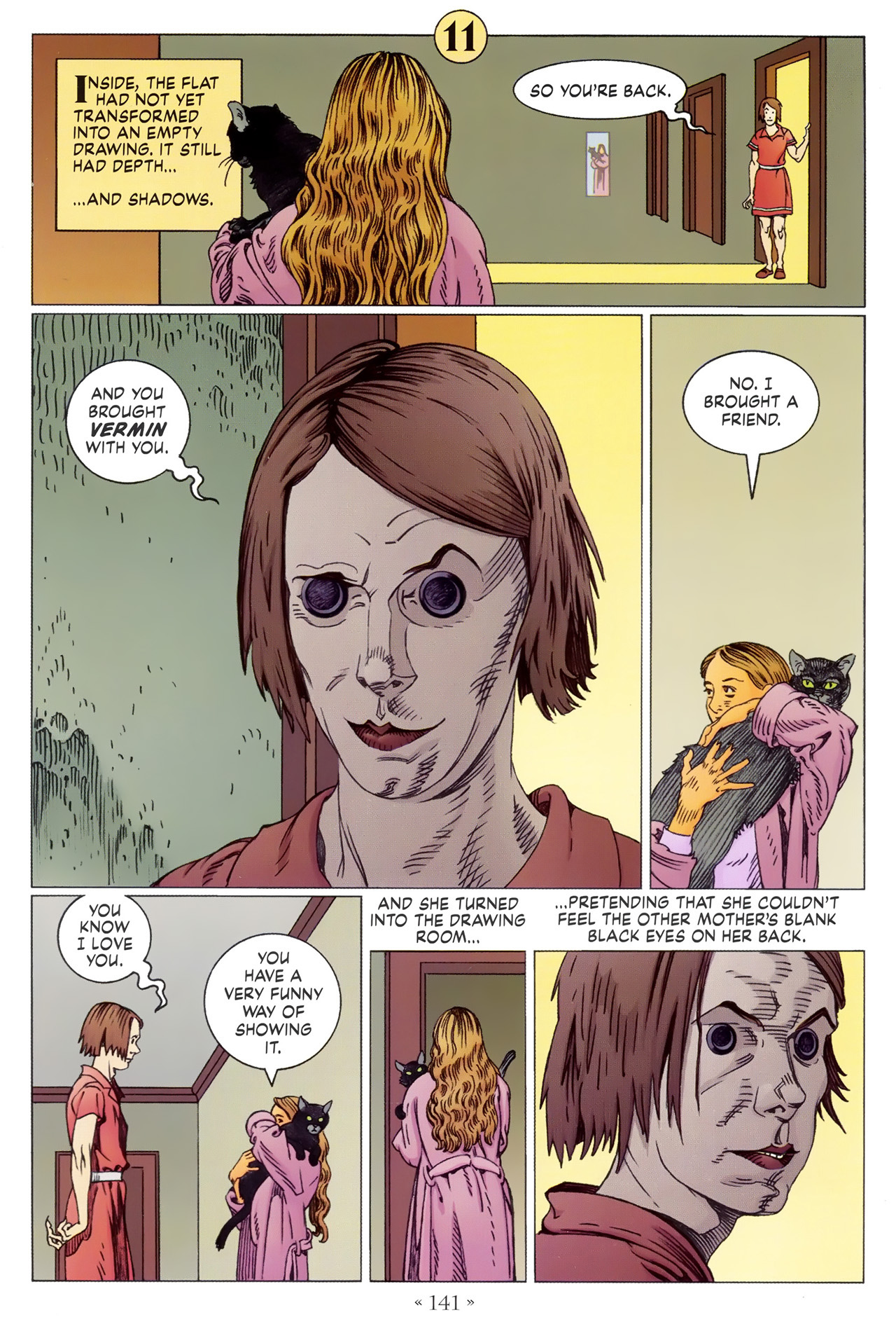 Read online Coraline comic -  Issue #1 - 147