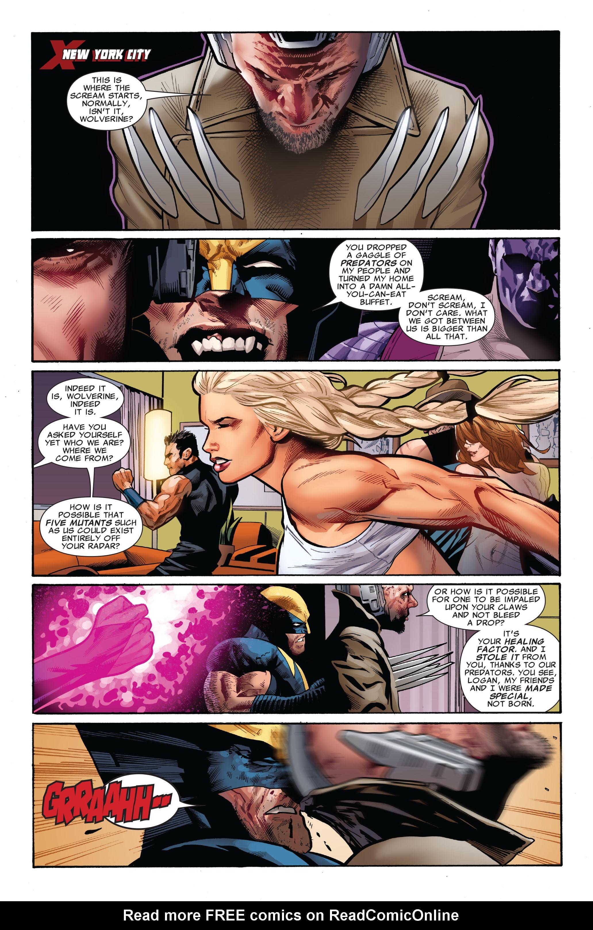 Read online Uncanny X-Men (1963) comic -  Issue #521 - 5
