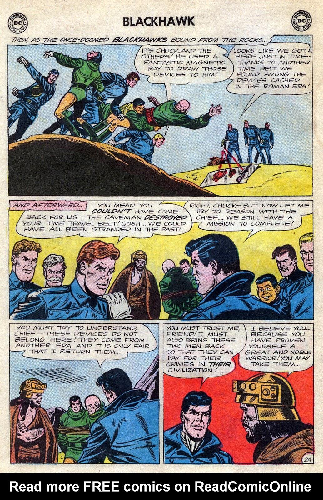 Blackhawk (1957) Issue #189 #82 - English 30