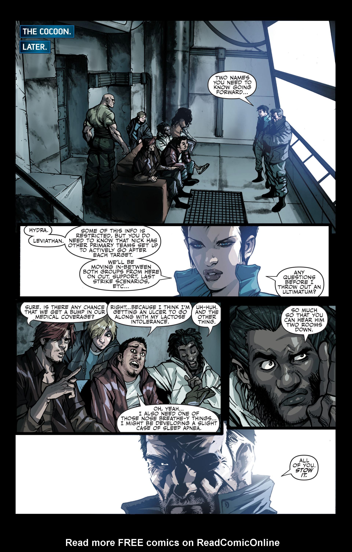 Read online Secret Warriors comic -  Issue #13 - 22