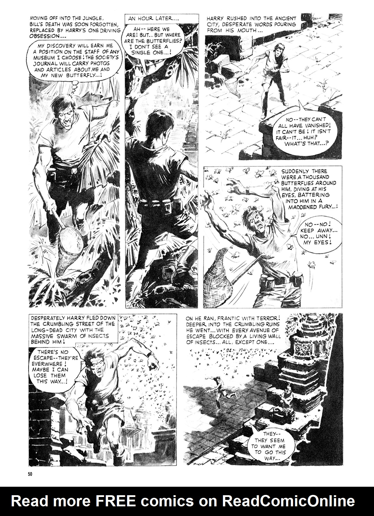 Read online Eerie Archives comic -  Issue # TPB 8 - 51