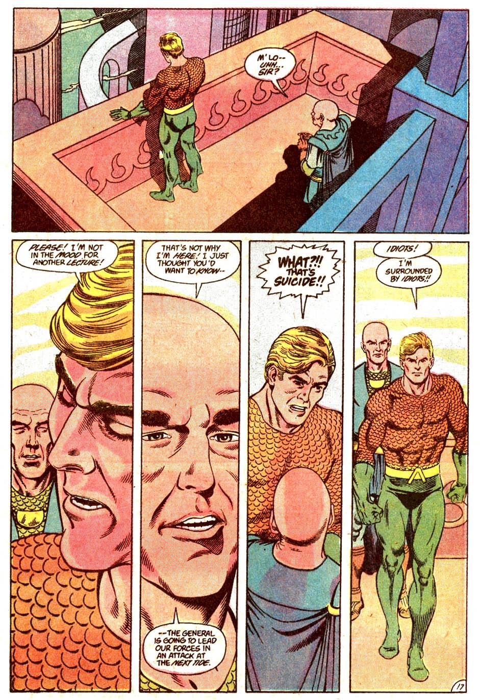 Read online Aquaman (1989) comic -  Issue #4 - 18