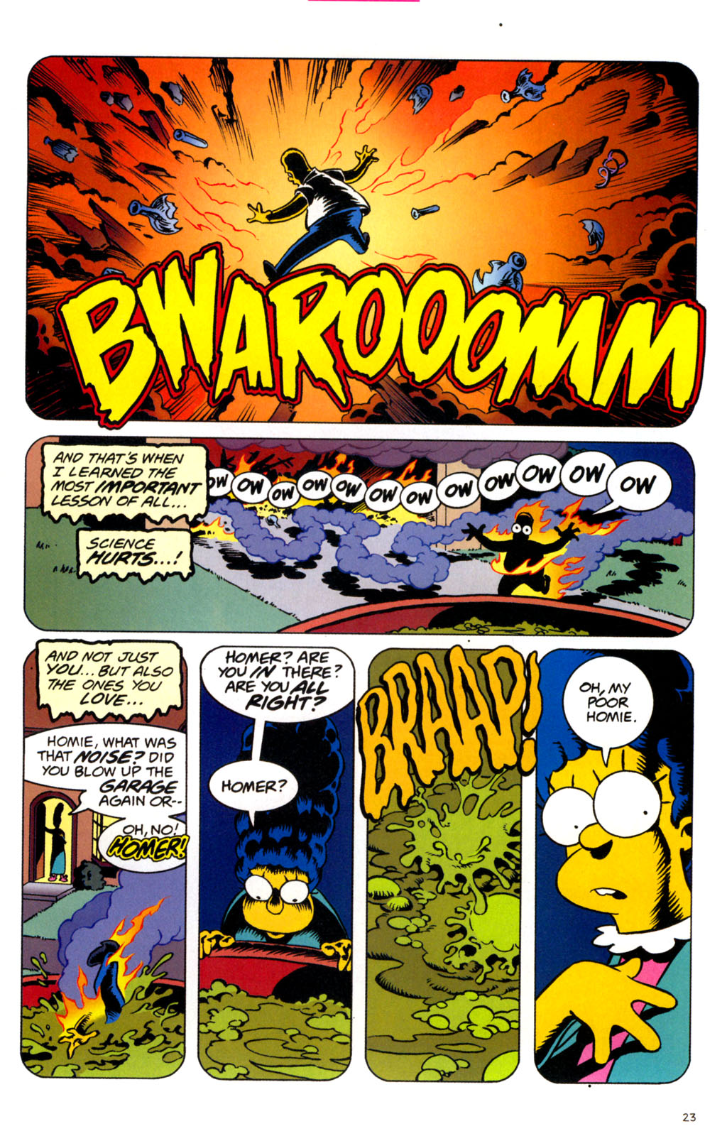 Read online Treehouse of Horror comic -  Issue #11 - 25