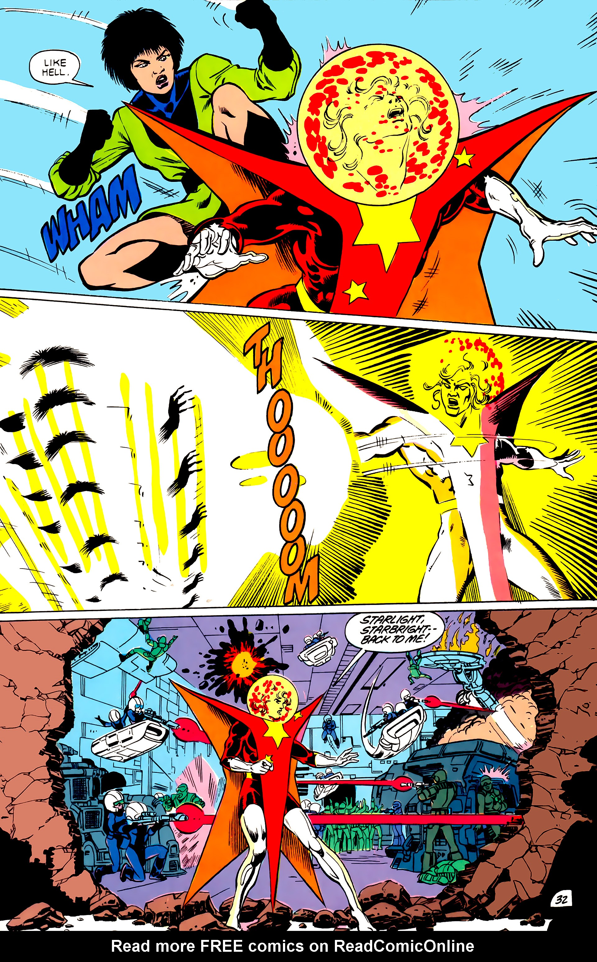 Legion of Super-Heroes (1984) _Annual_4 Page 32