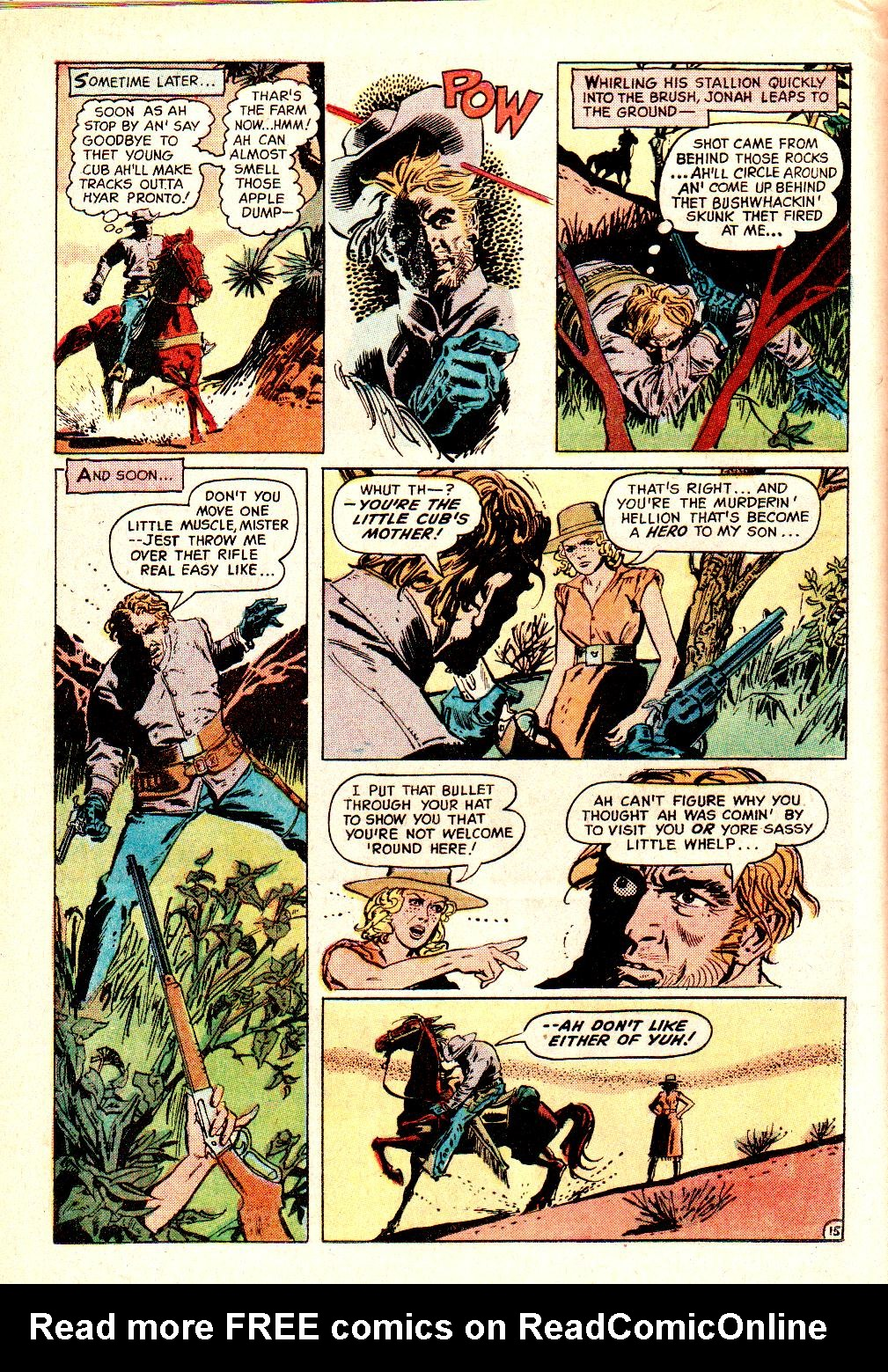 Read online All-Star Western (1970) comic -  Issue #10 - 18