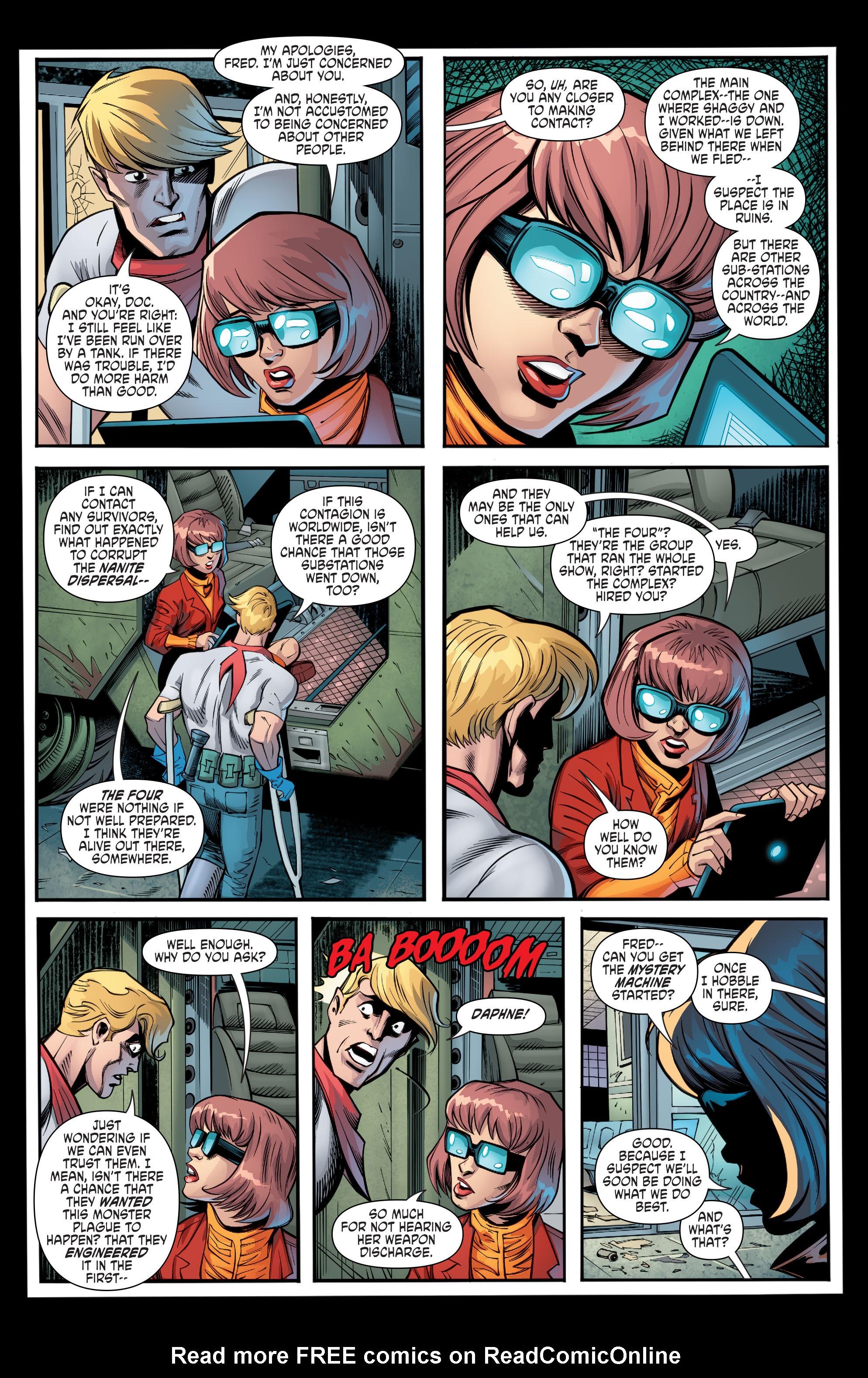 Read online Scooby Apocalypse comic -  Issue #8 - 18