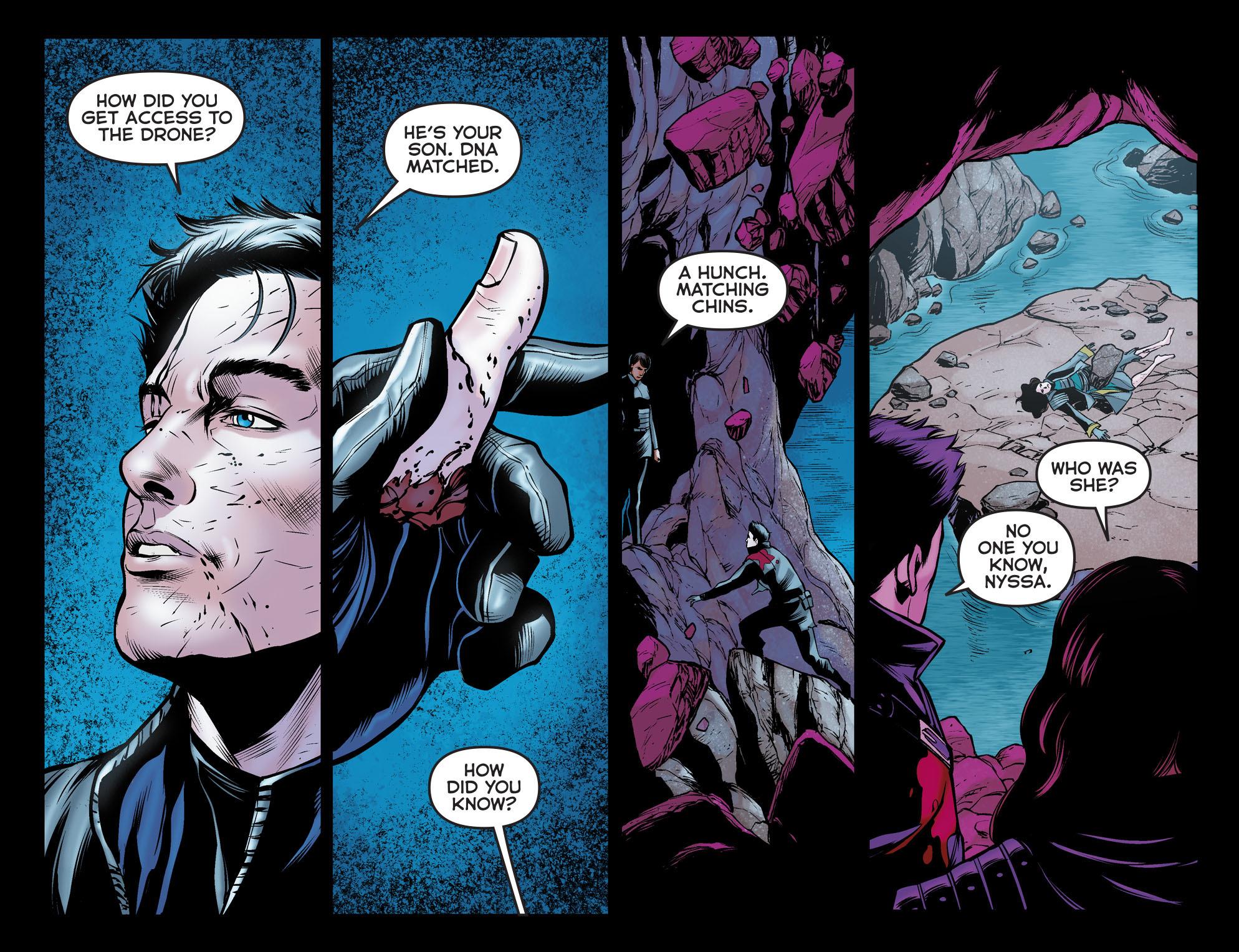 Read online Arrow: The Dark Archer comic -  Issue #12 - 18