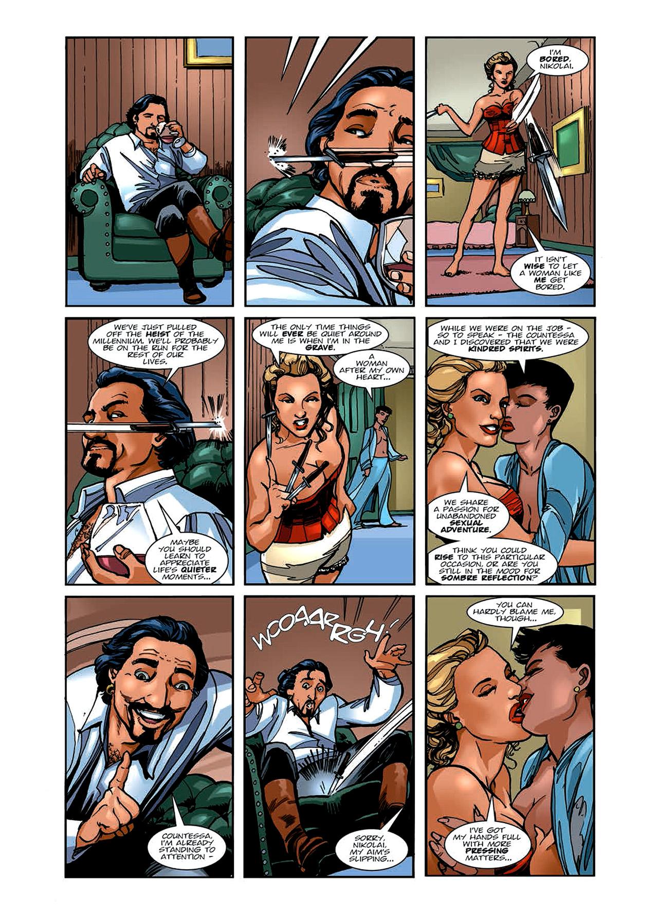Read online Nikolai Dante comic -  Issue # TPB 6 - 56