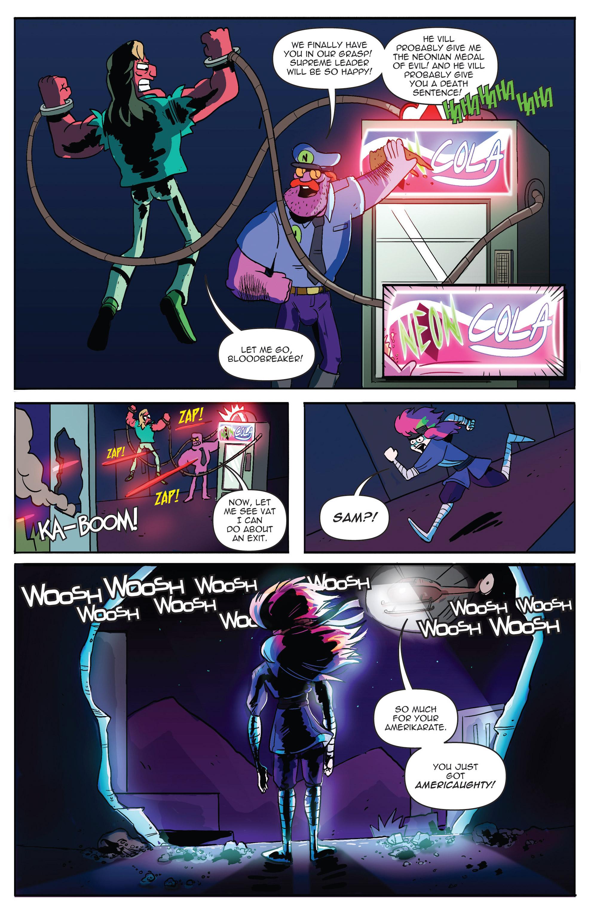 Read online AmeriKarate comic -  Issue #2 - 26
