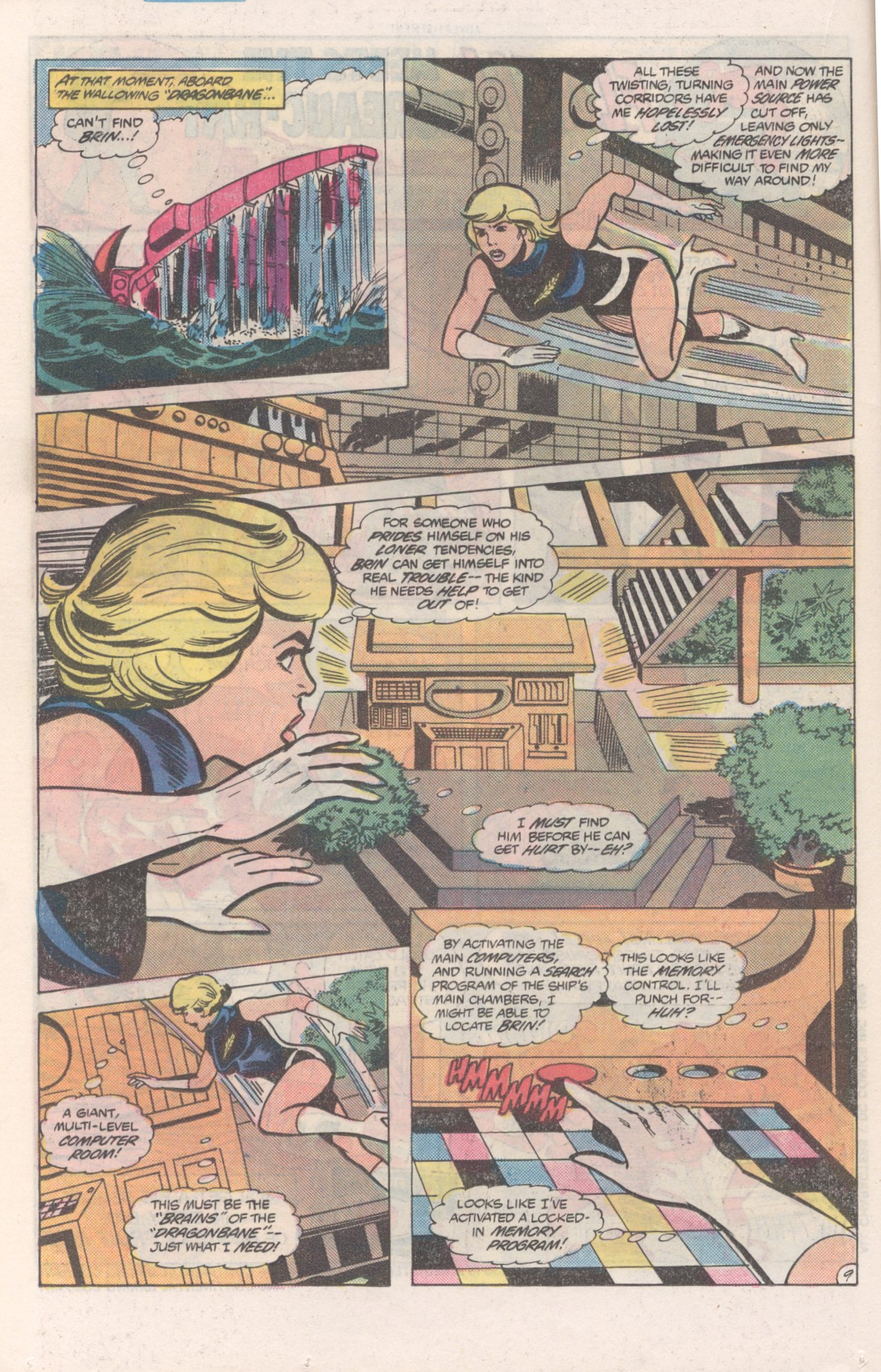 Legion of Super-Heroes (1980) 271 Page 9