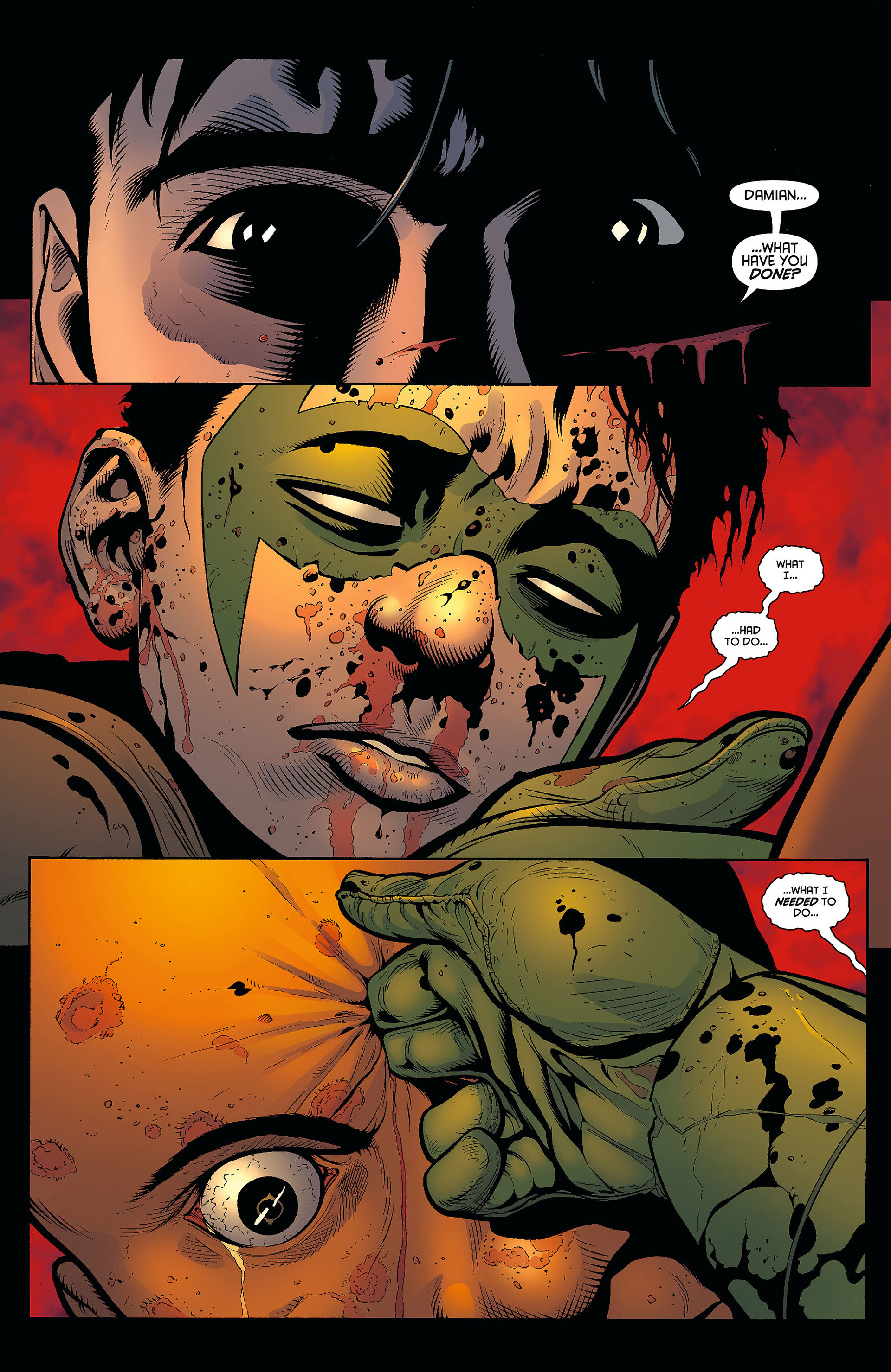 Read online Batman and Robin (2011) comic -  Issue #8 - 2