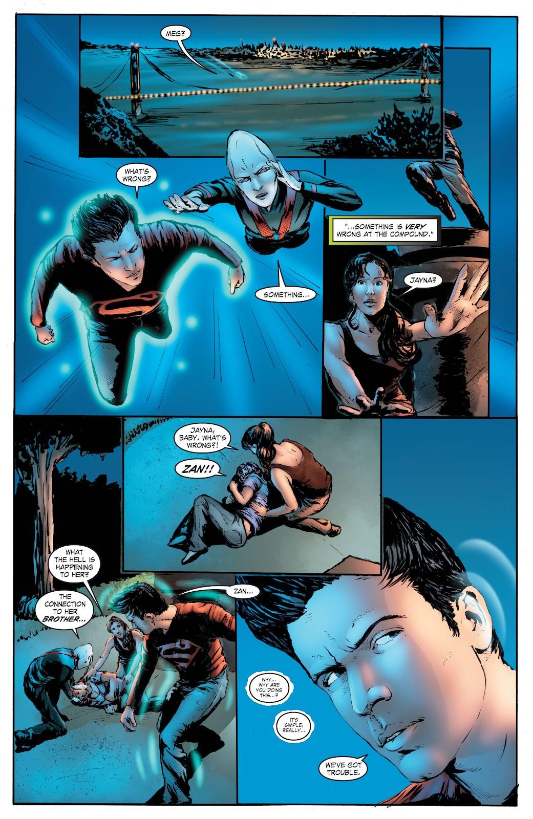 Read online Smallville Season 11 [II] comic -  Issue # TPB 7 - 154