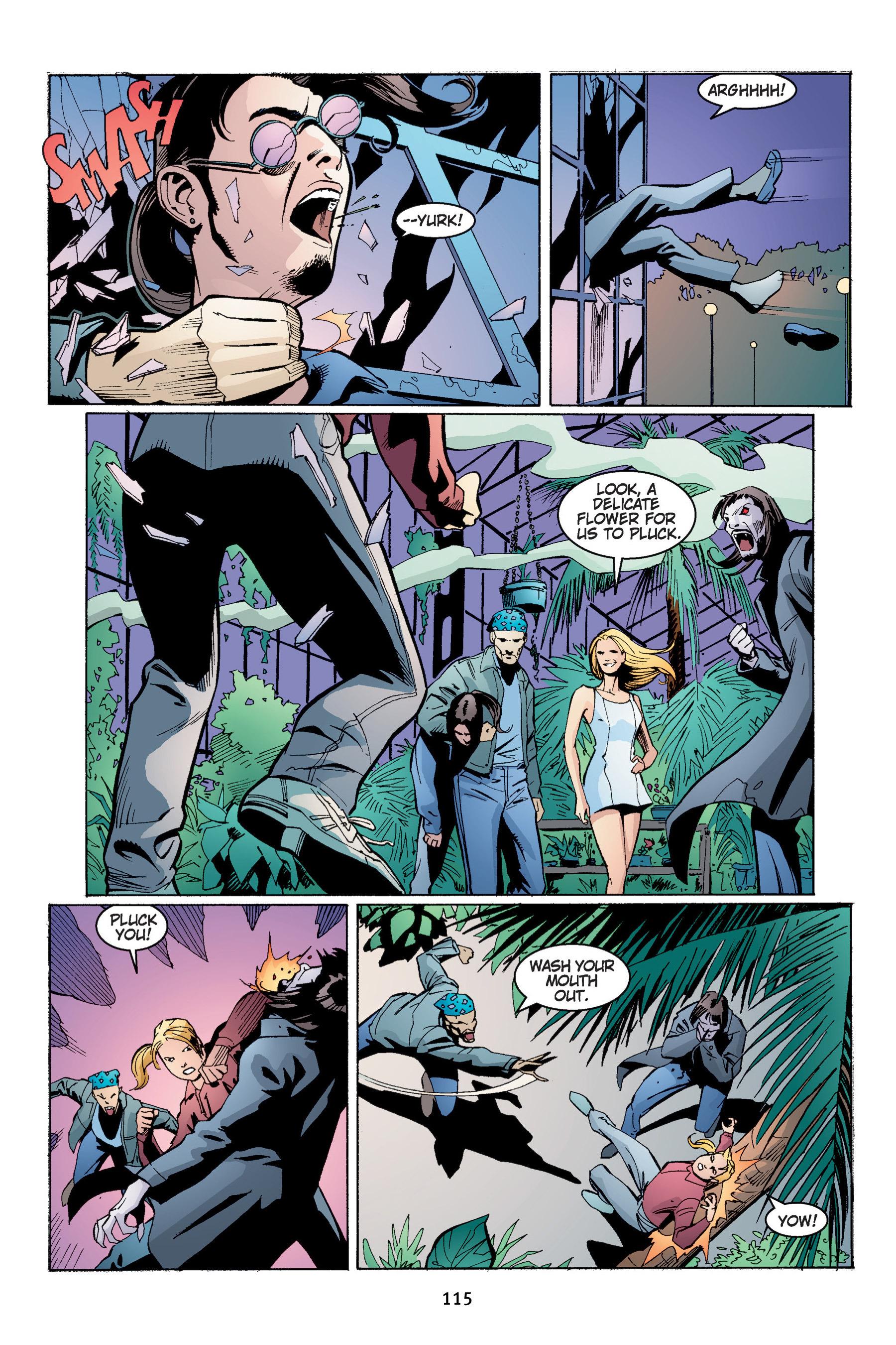 Read online Buffy the Vampire Slayer: Omnibus comic -  Issue # TPB 4 - 116