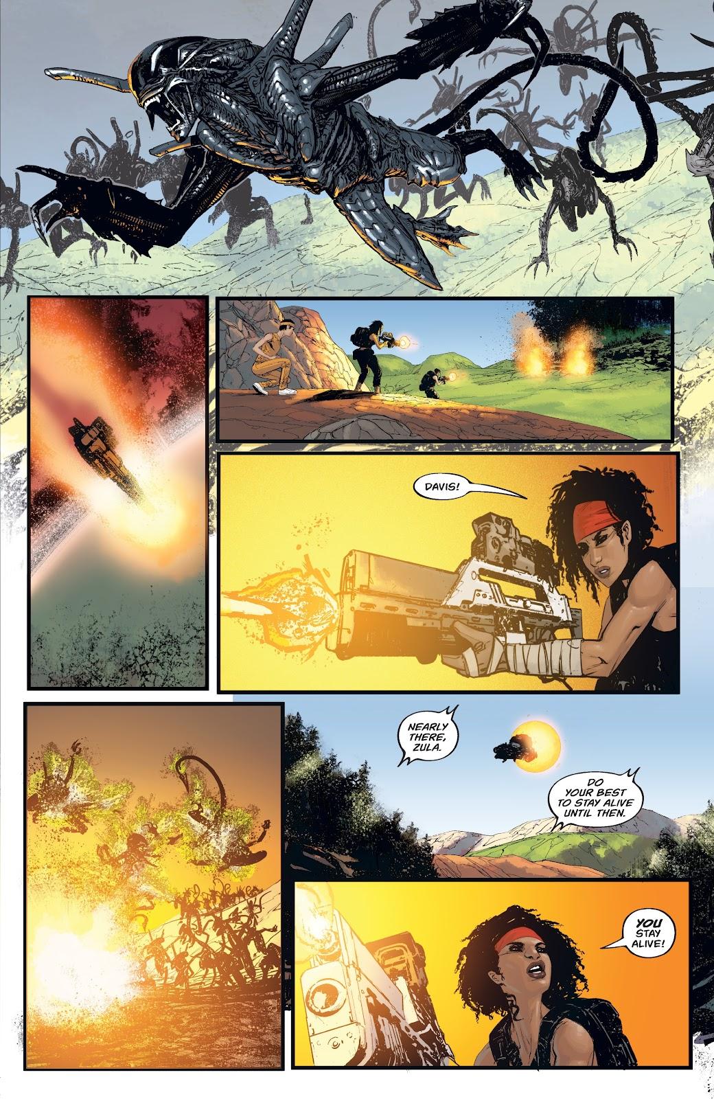 Read online Aliens: Resistance comic -  Issue #4 - 15