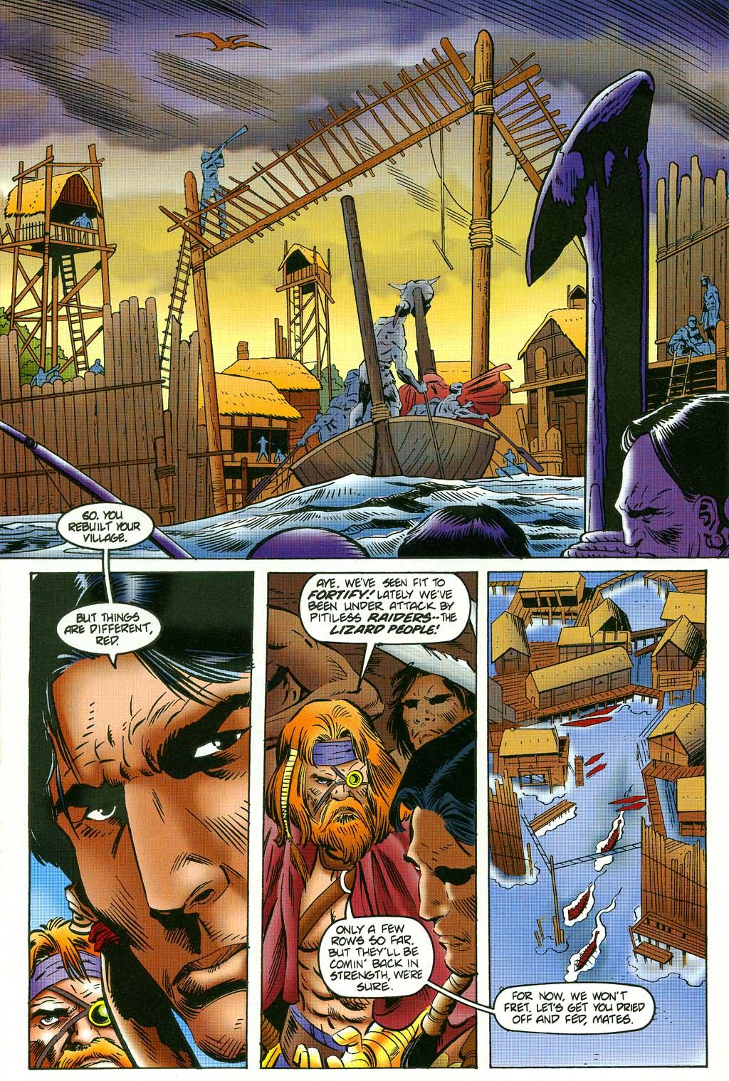 Read online Turok, Dinosaur Hunter (1993) comic -  Issue #45 - 16