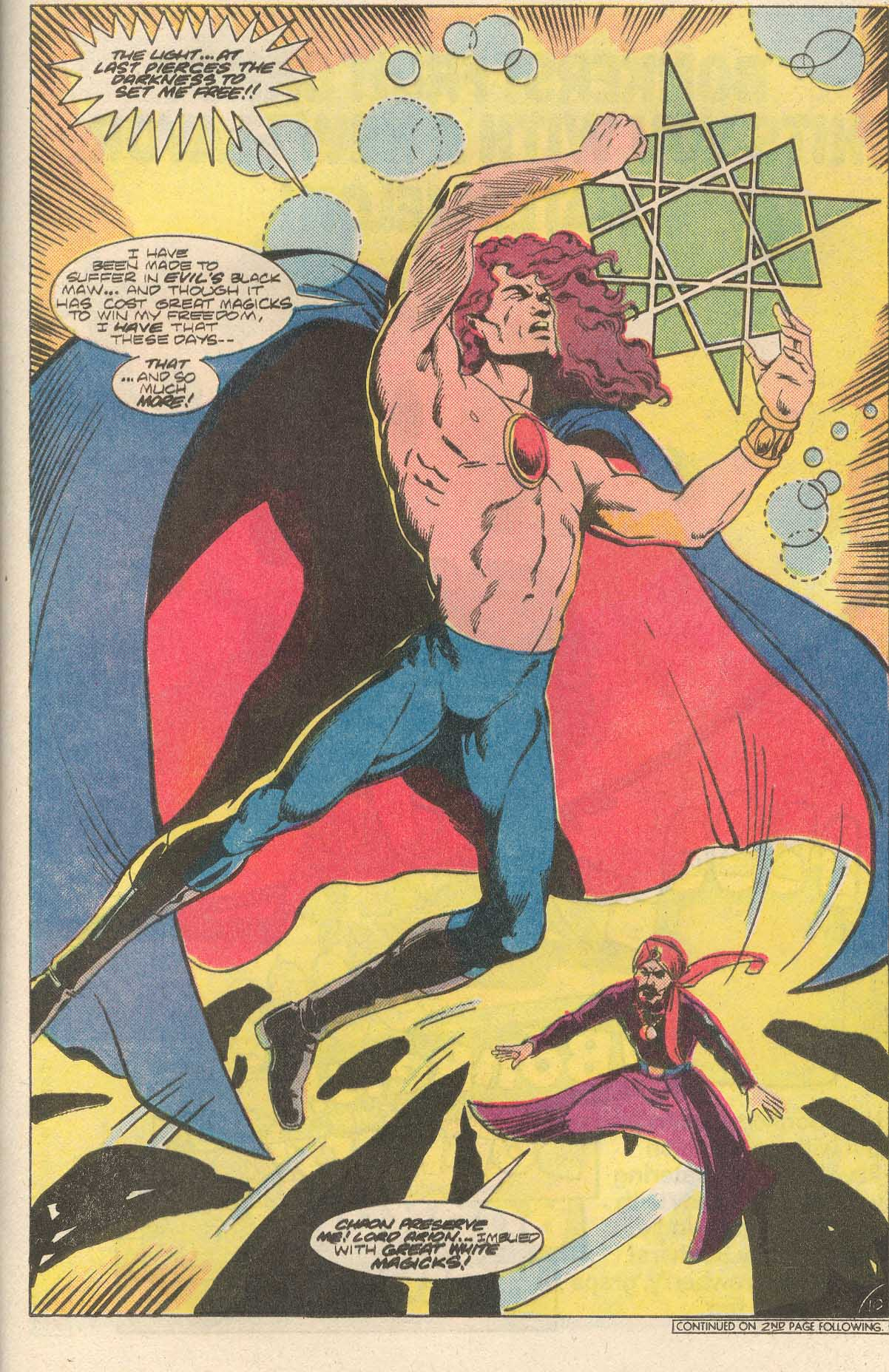Read online Arion, Lord of Atlantis comic -  Issue #35 - 11