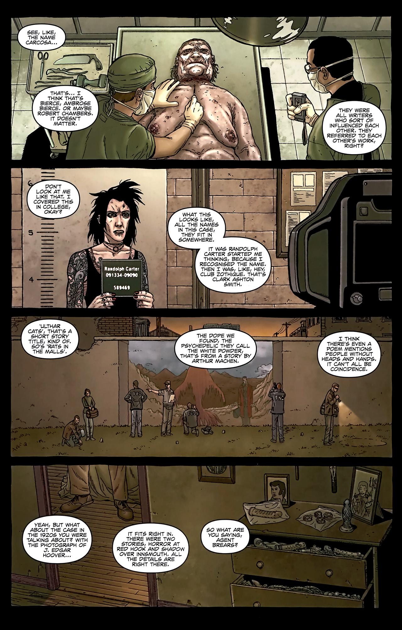 Read online Alan Moore's Neonomicon comic -  Issue #2 - 7