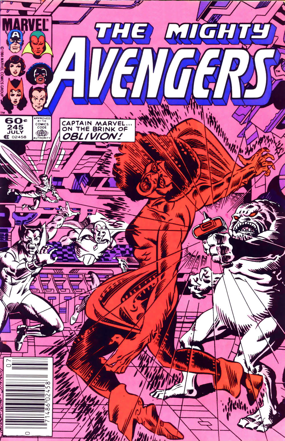 The Avengers (1963) 245 Page 1