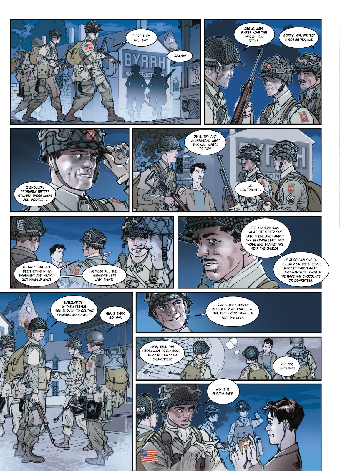 Read online Opération Overlord comic -  Issue #1 - 33