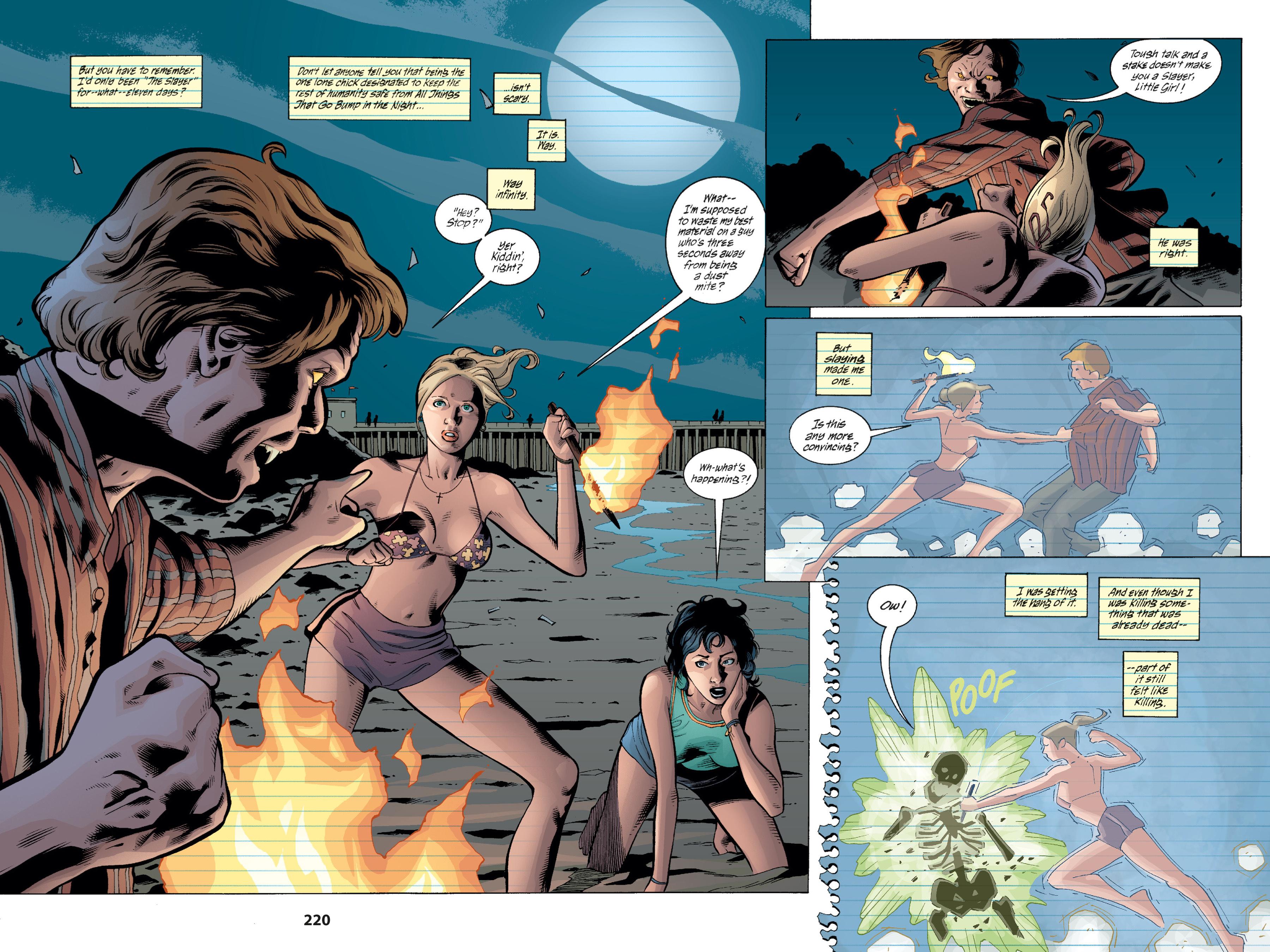 Read online Buffy the Vampire Slayer: Omnibus comic -  Issue # TPB 1 - 216