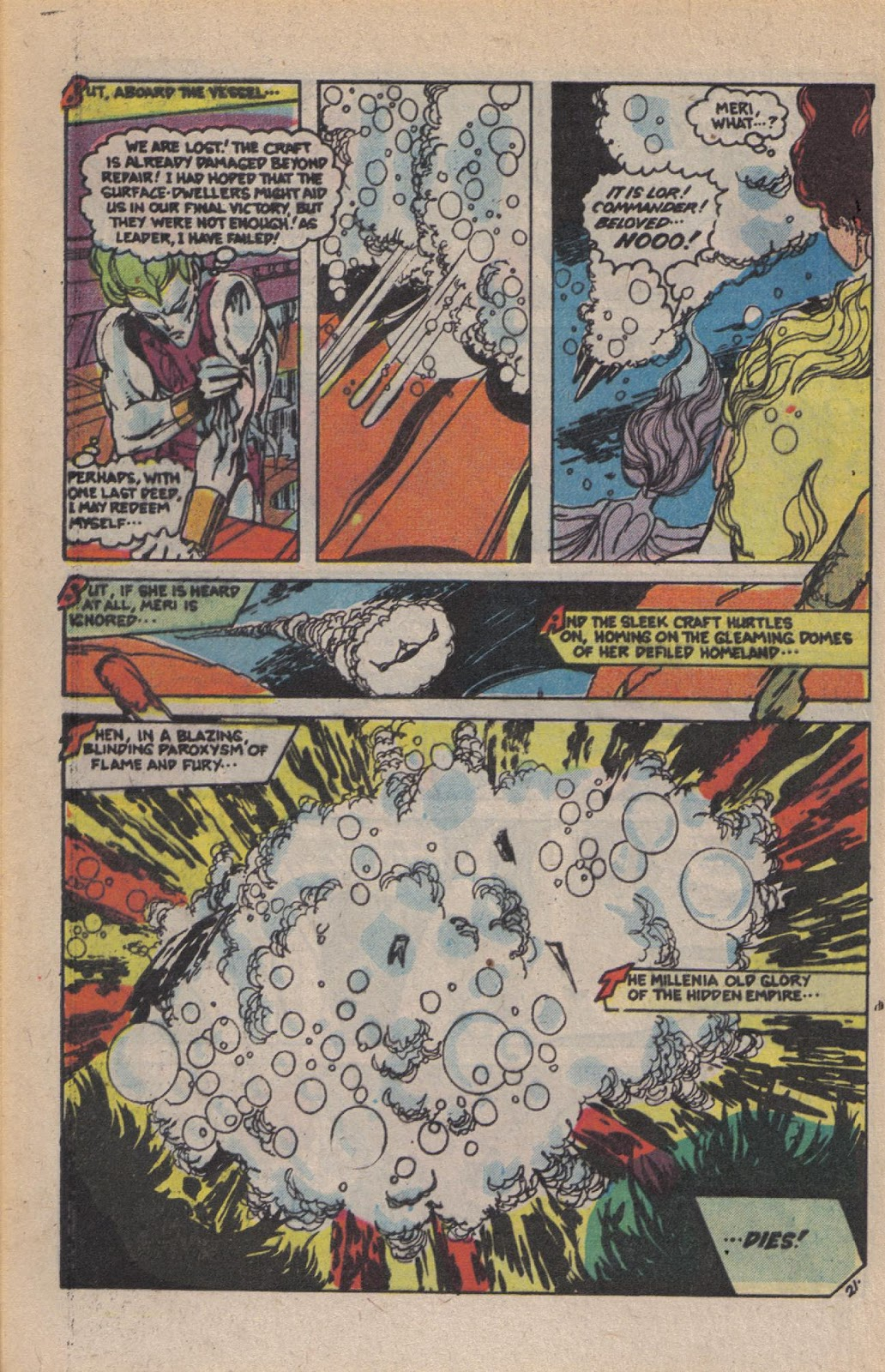 Read online Doomsday   1 (1975) comic -  Issue #10 - 27