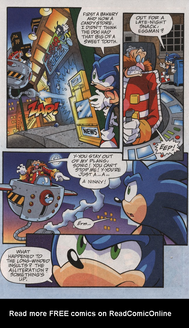 Read online Sonic X comic -  Issue #31 - 18