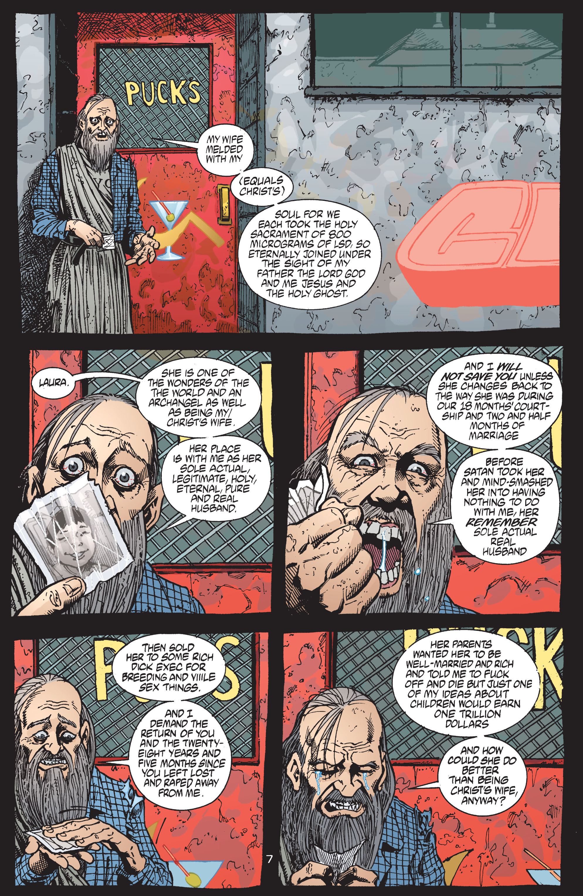 Read online Transmetropolitan comic -  Issue #41 - 8
