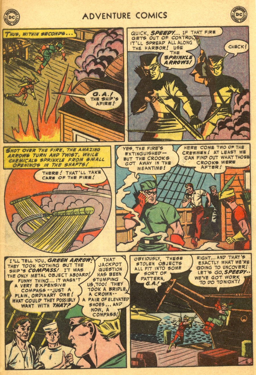 Read online Adventure Comics (1938) comic -  Issue #203 - 39