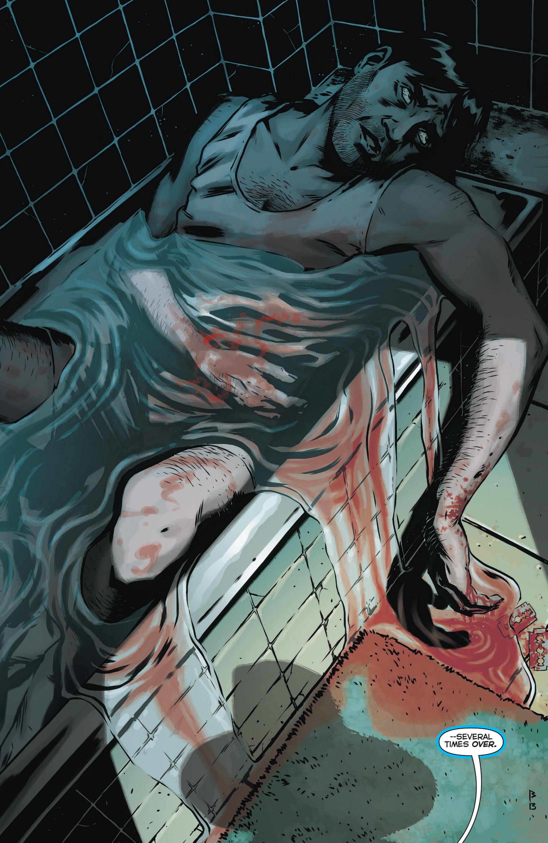 Read online Trinity of Sin: The Phantom Stranger comic -  Issue #12 - 14