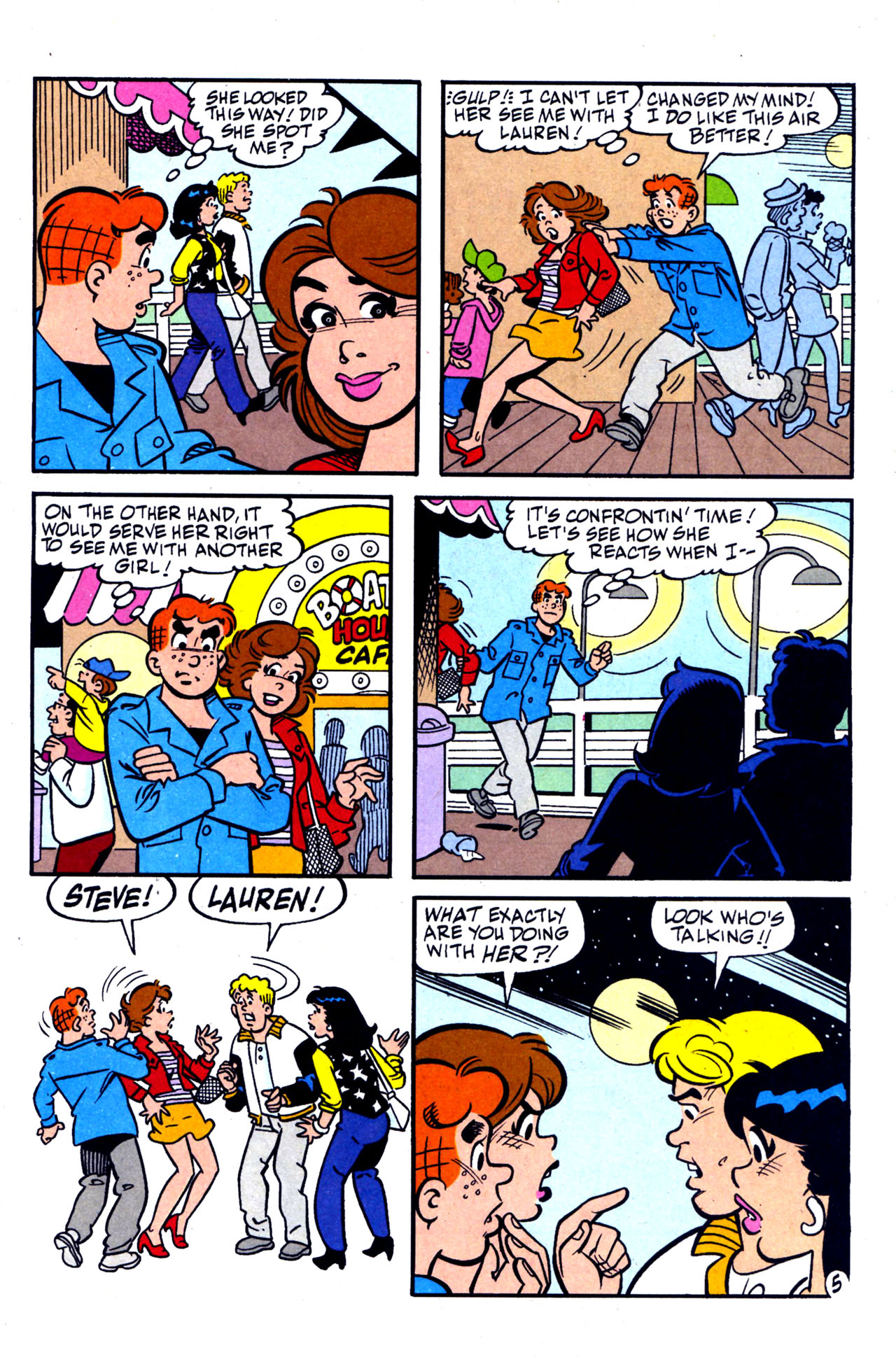 Read online Archie (1960) comic -  Issue #578 - 6
