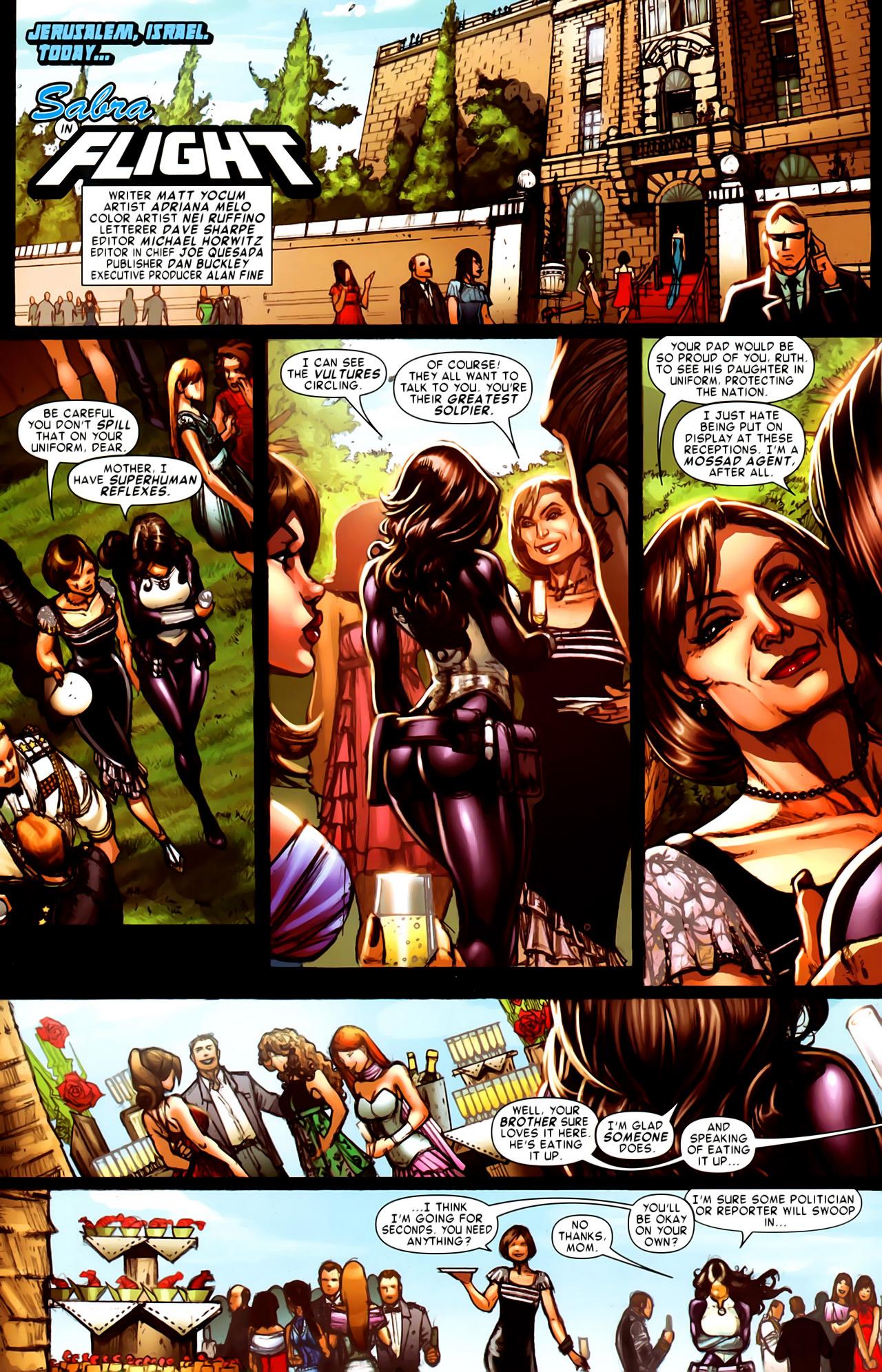 Read online Astonishing Tales (2009) comic -  Issue #6 - 19
