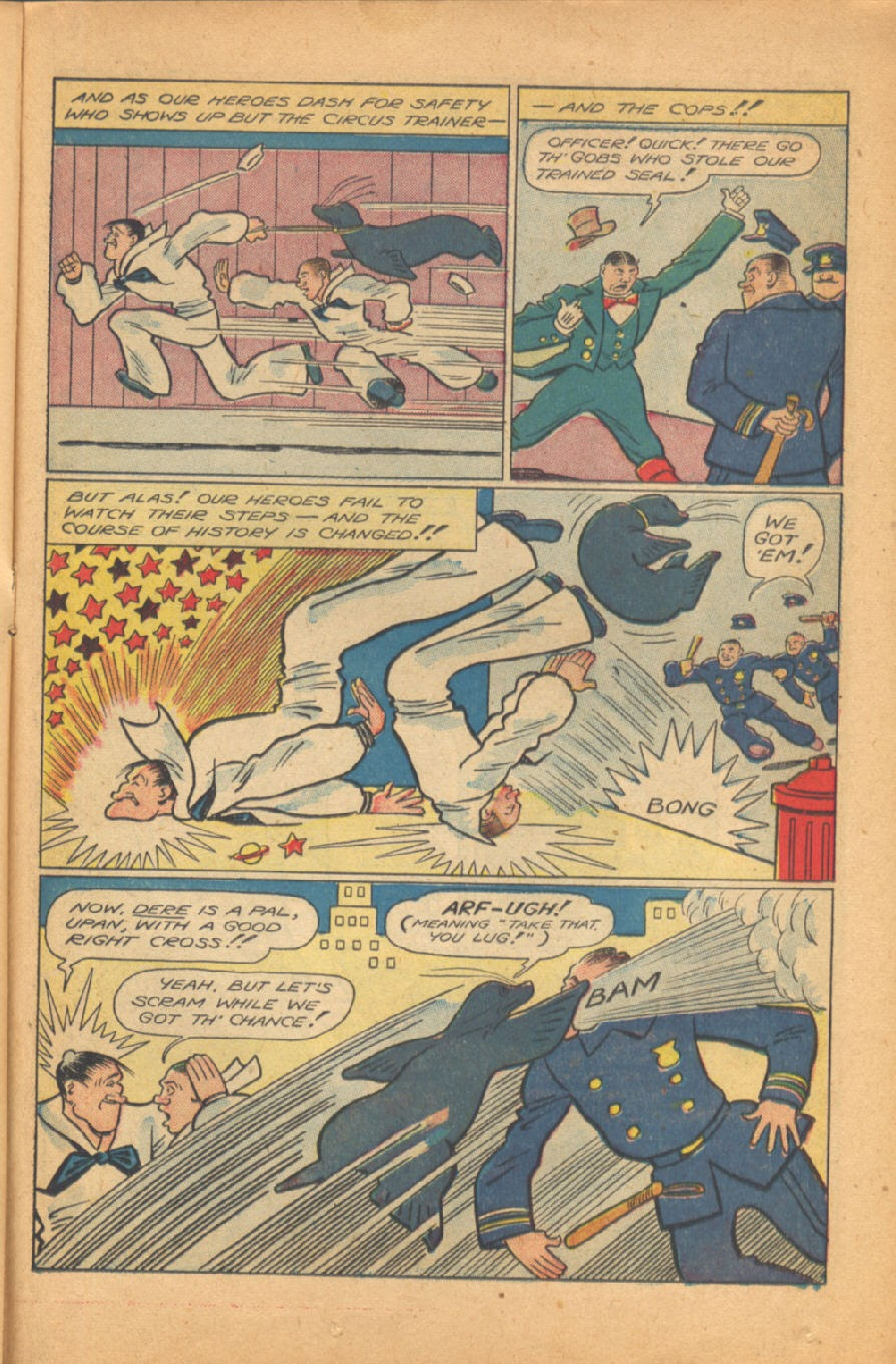 Read online Super-Magician Comics comic -  Issue #38 - 31