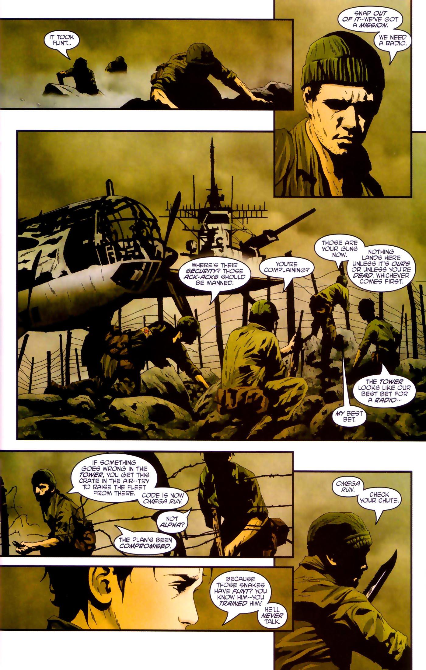 Read online Transformers/G.I. Joe comic -  Issue #4 - 7
