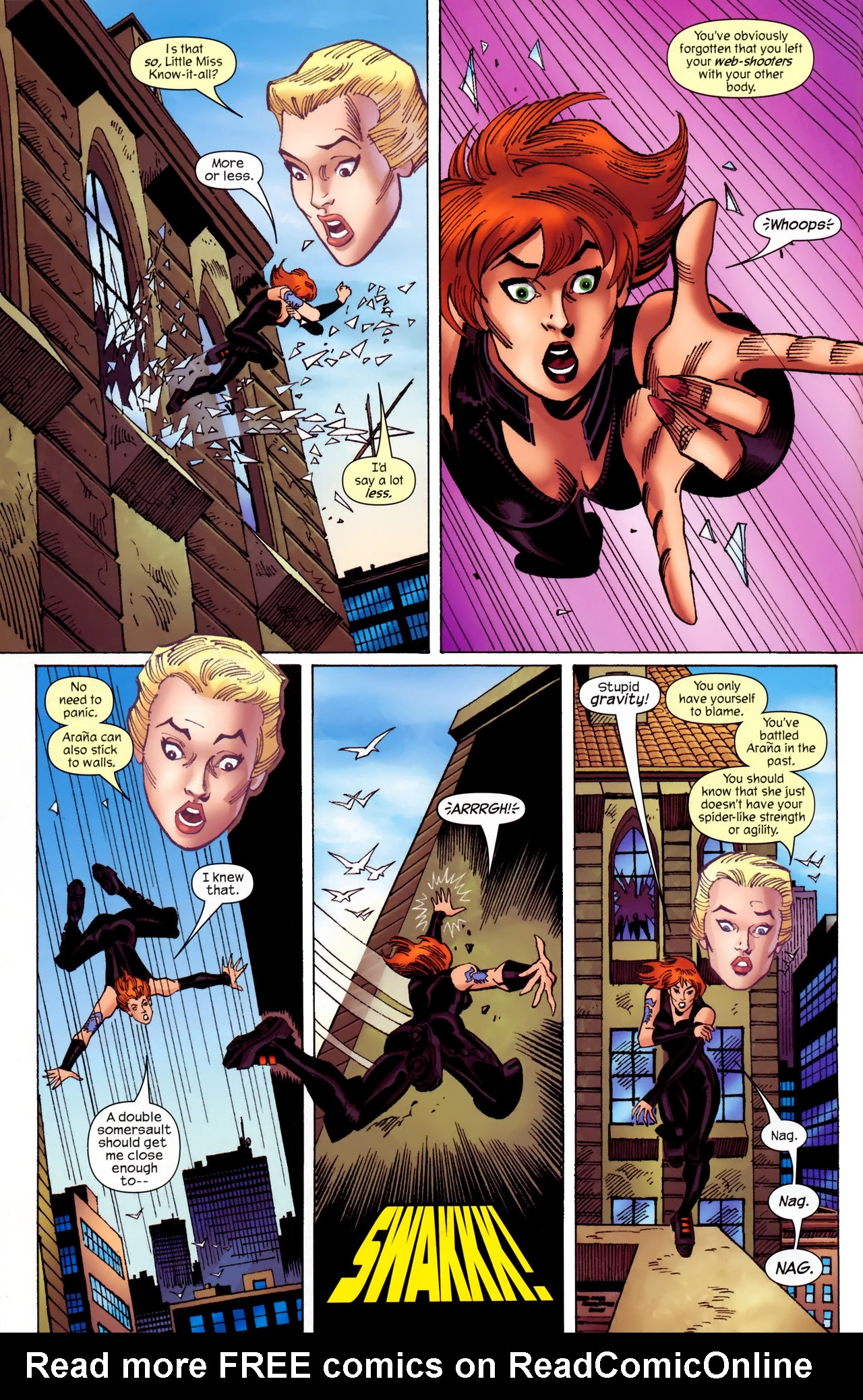 Read online Amazing Spider-Girl comic -  Issue #27 - 6
