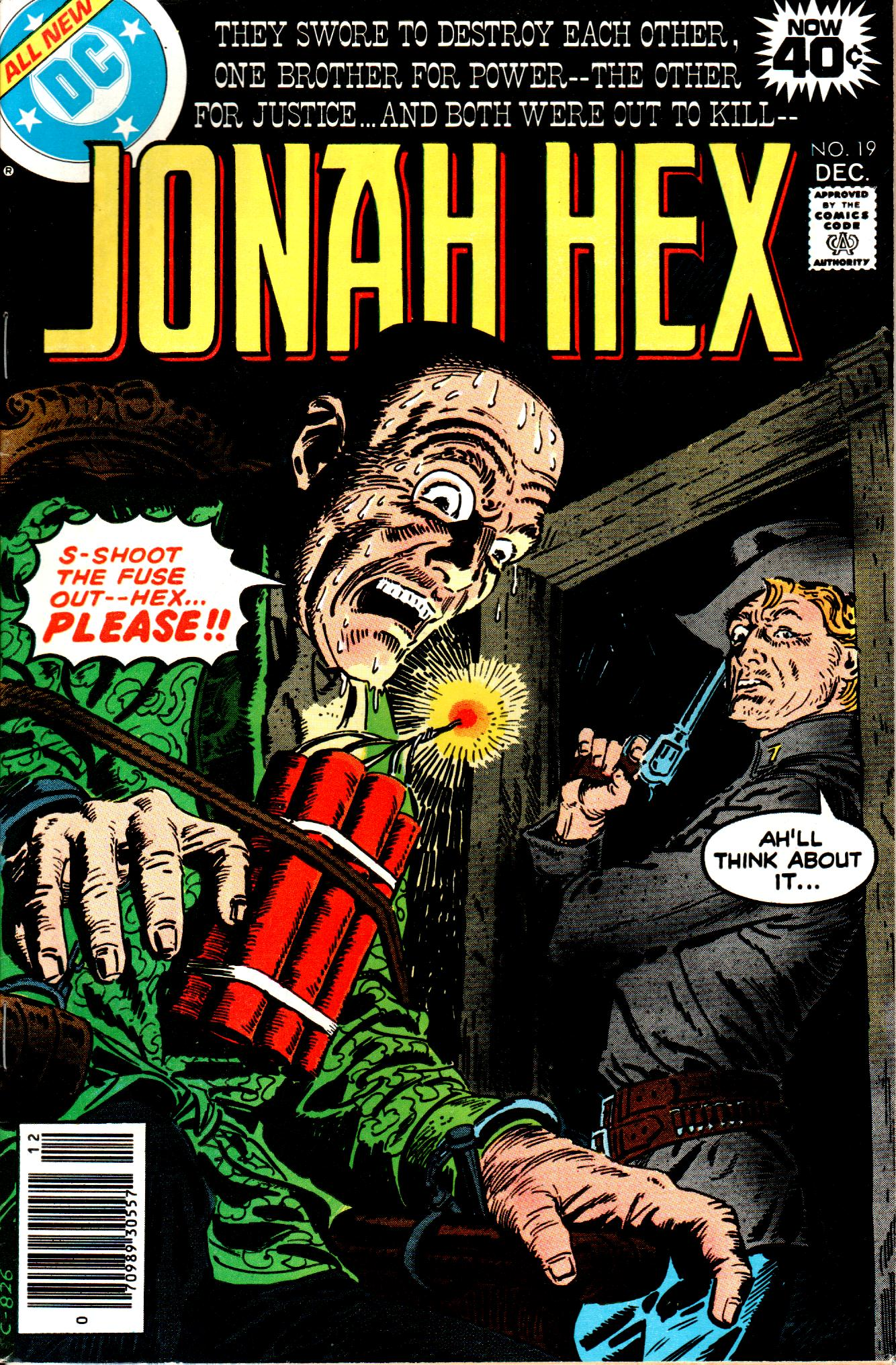 Jonah Hex (1977) 19 Page 1