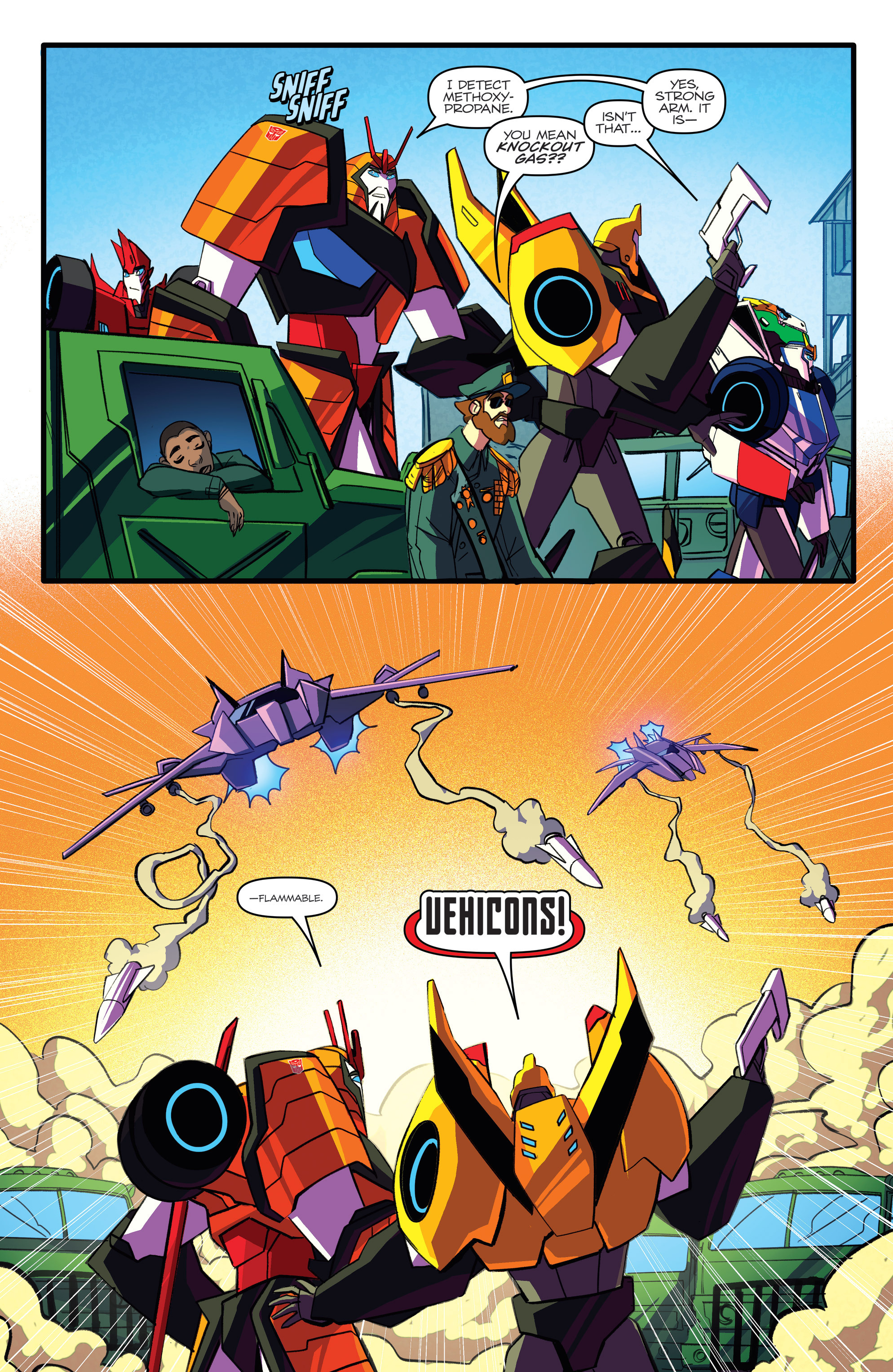 Read online Transformers: Robots In Disguise (2015) comic -  Issue #5 - 18