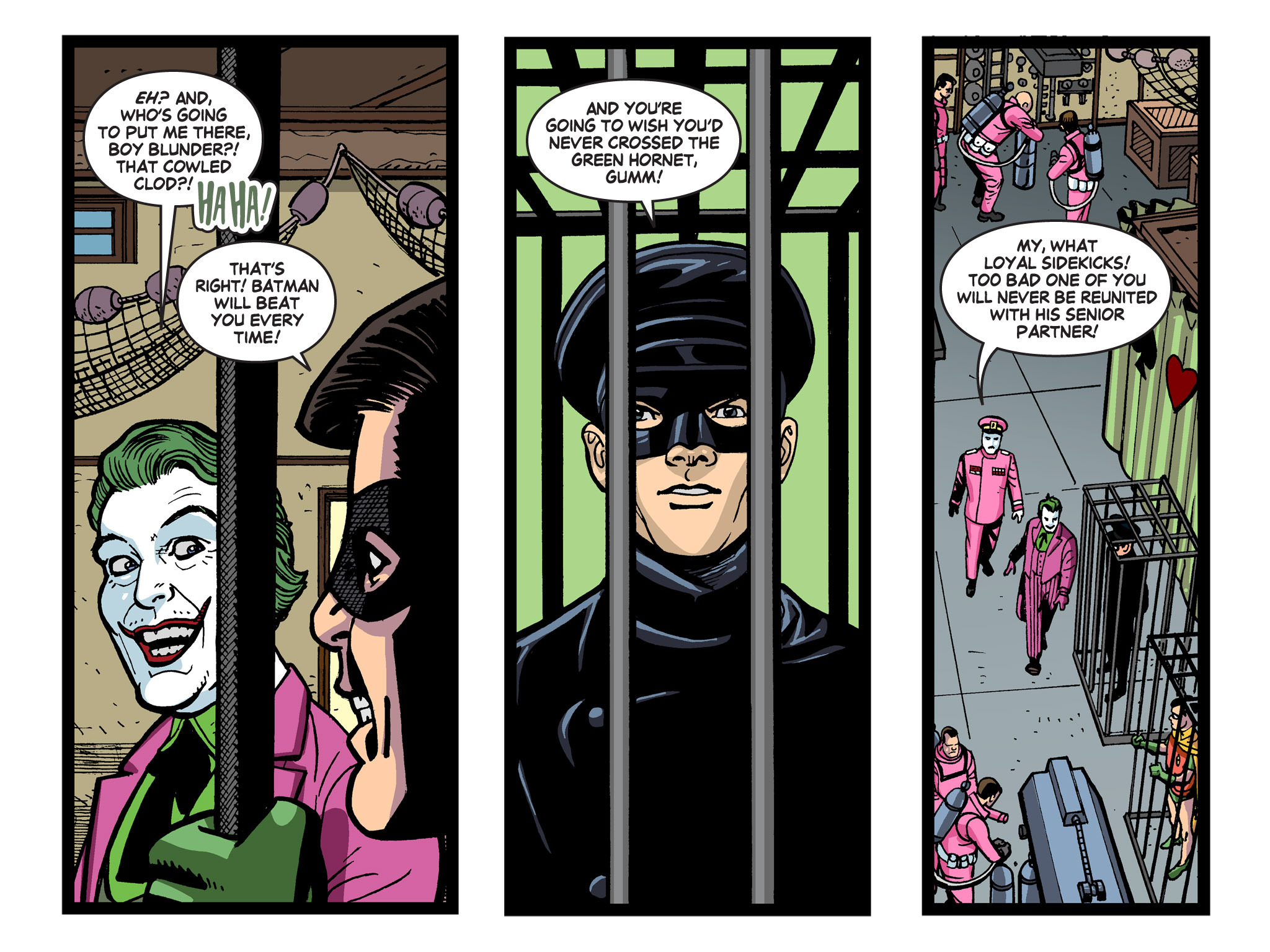 Read online Batman '66 Meets the Green Hornet [II] comic -  Issue #5 - 88