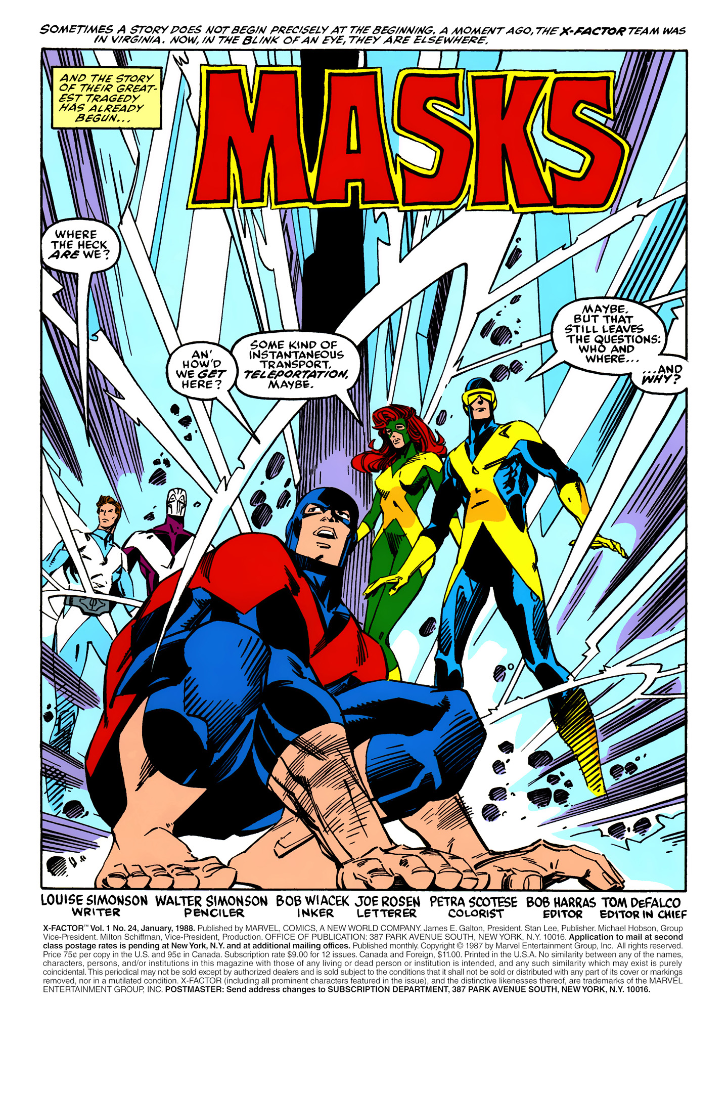 Read online X-Factor (1986) comic -  Issue #24 - 2